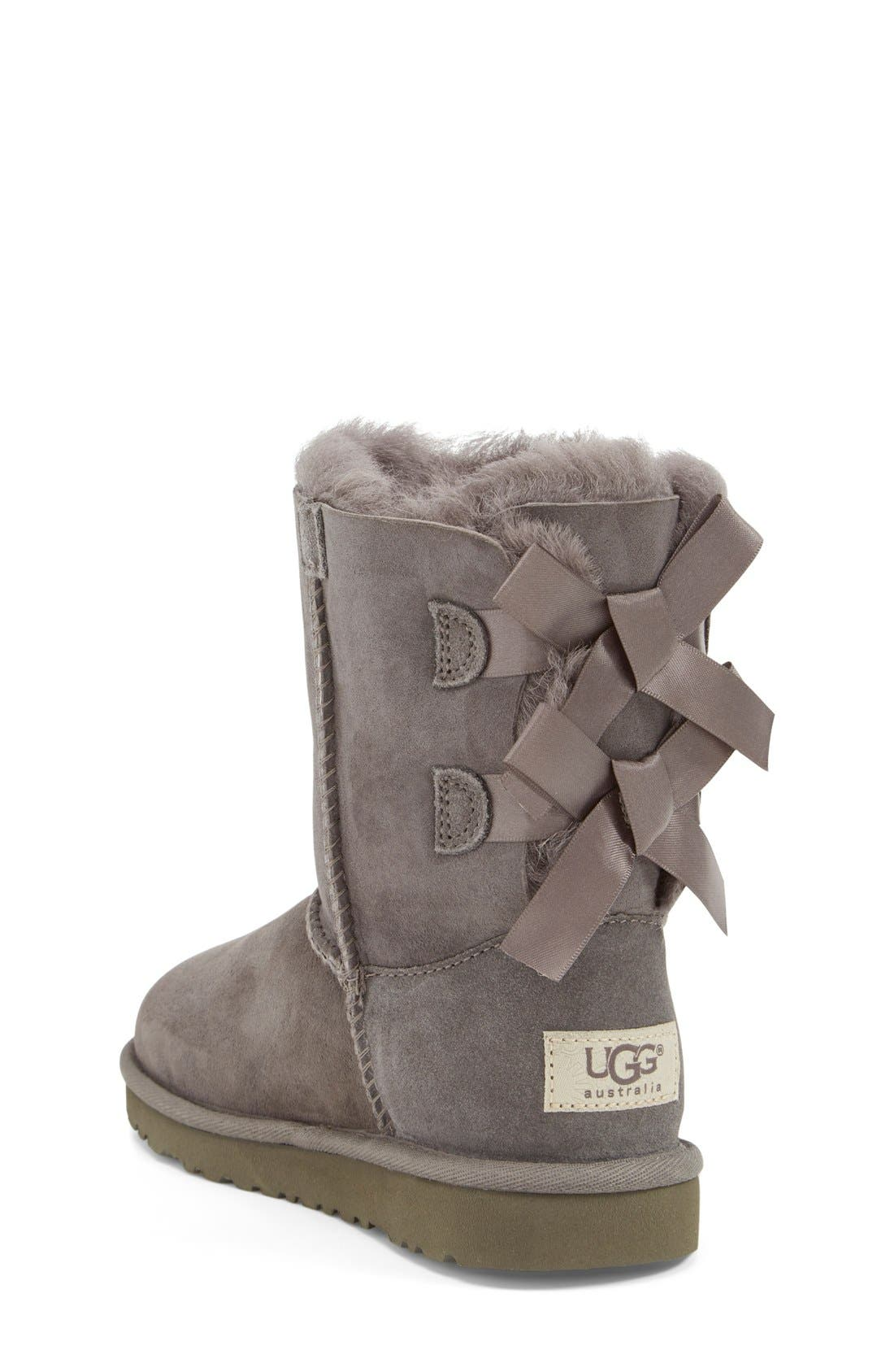 Alternate Image 2  - UGG® Bailey Bow Boot (Walker, Toddler, Little Kid & Big Kid)