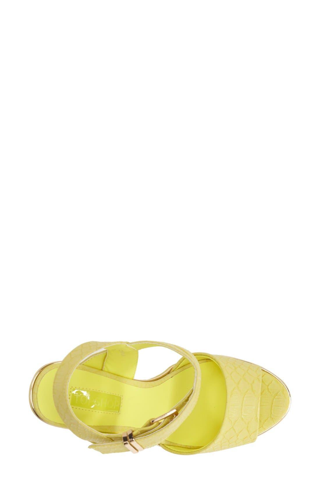 Alternate Image 3  - Topshop 'Lenni2' Platform Sandal (Women)