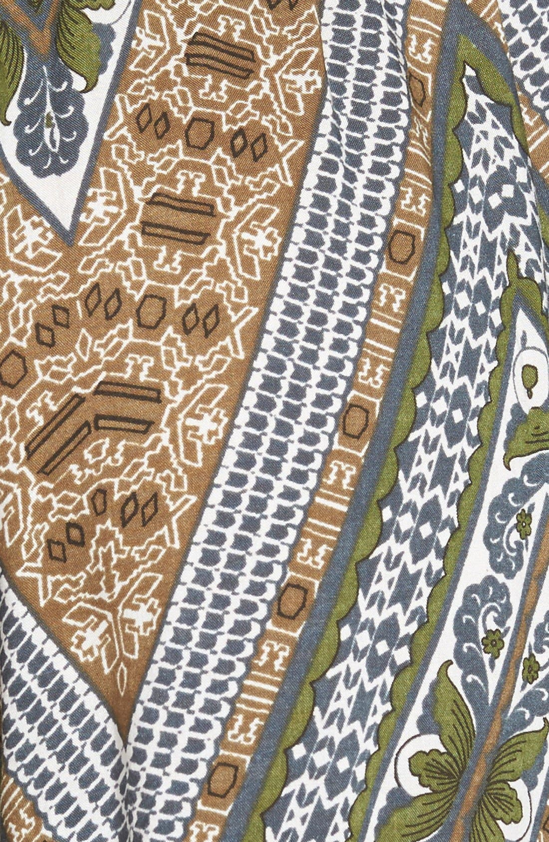 Alternate Image 3  - Sun & Shadow Paisley Print Pants (Juniors)