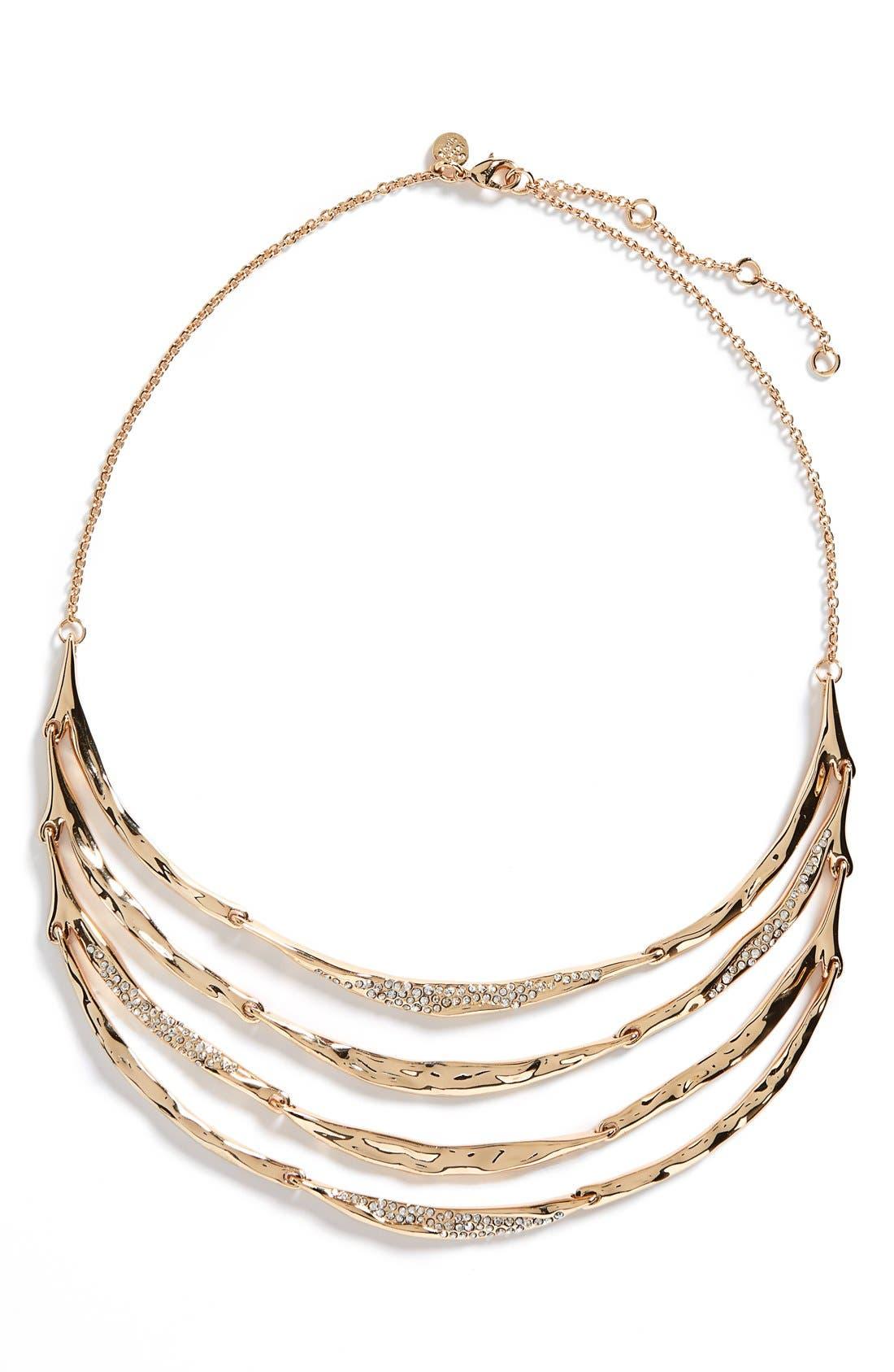 Alternate Image 1 Selected - Miss Havisham - Liquid' Tiered Bib Necklace