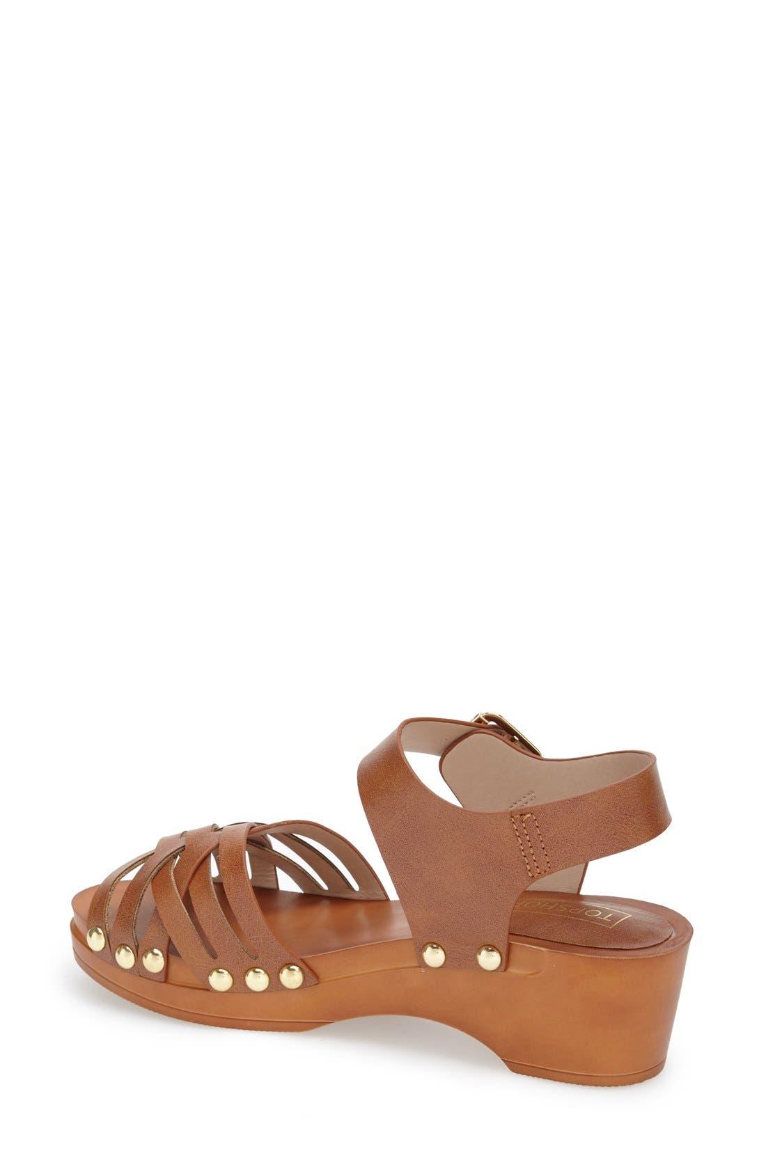 Alternate Image 2  - Topshop Clog Wedge Sandal (Women)