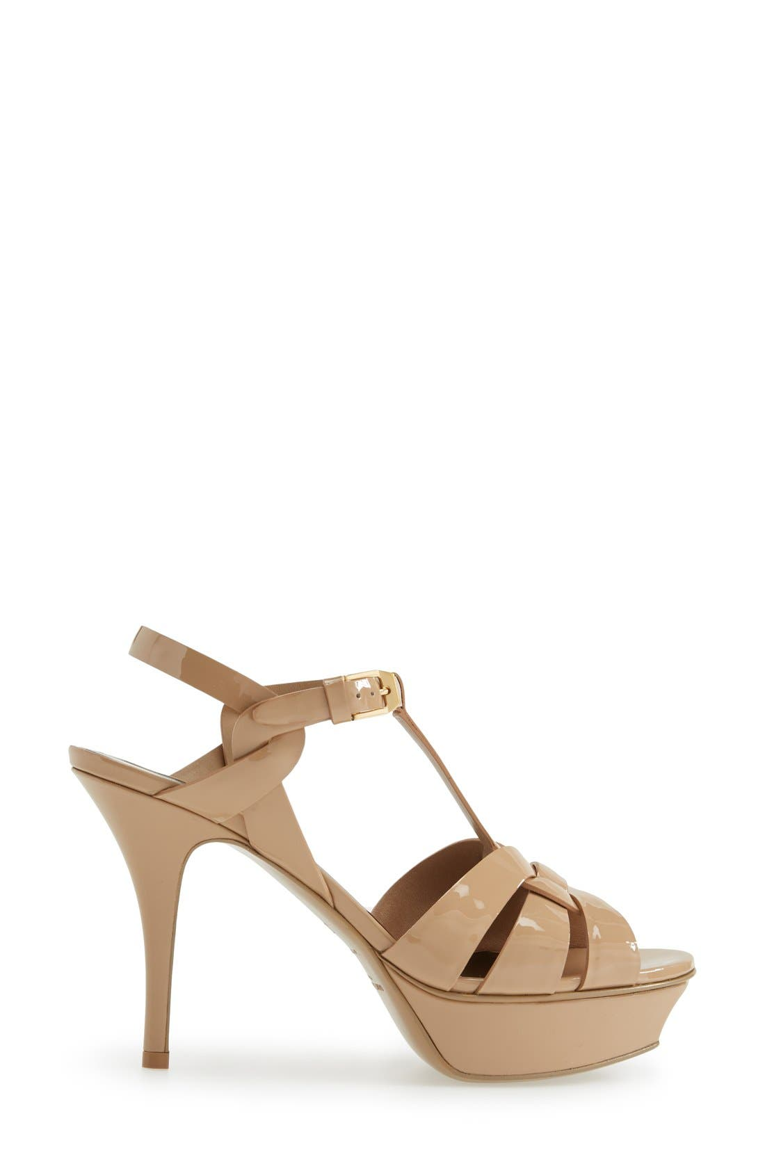 Alternate Image 4  - Saint Laurent 'Tribute' T-Strap Sandal (Women)