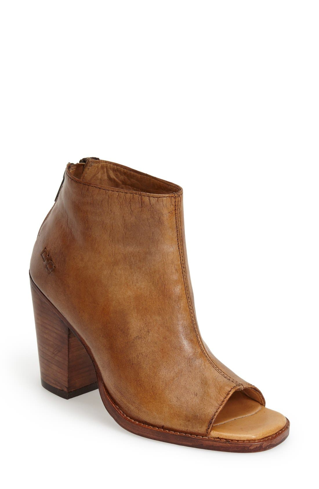 BED STU 'Onset' Peep Toe Bootie
