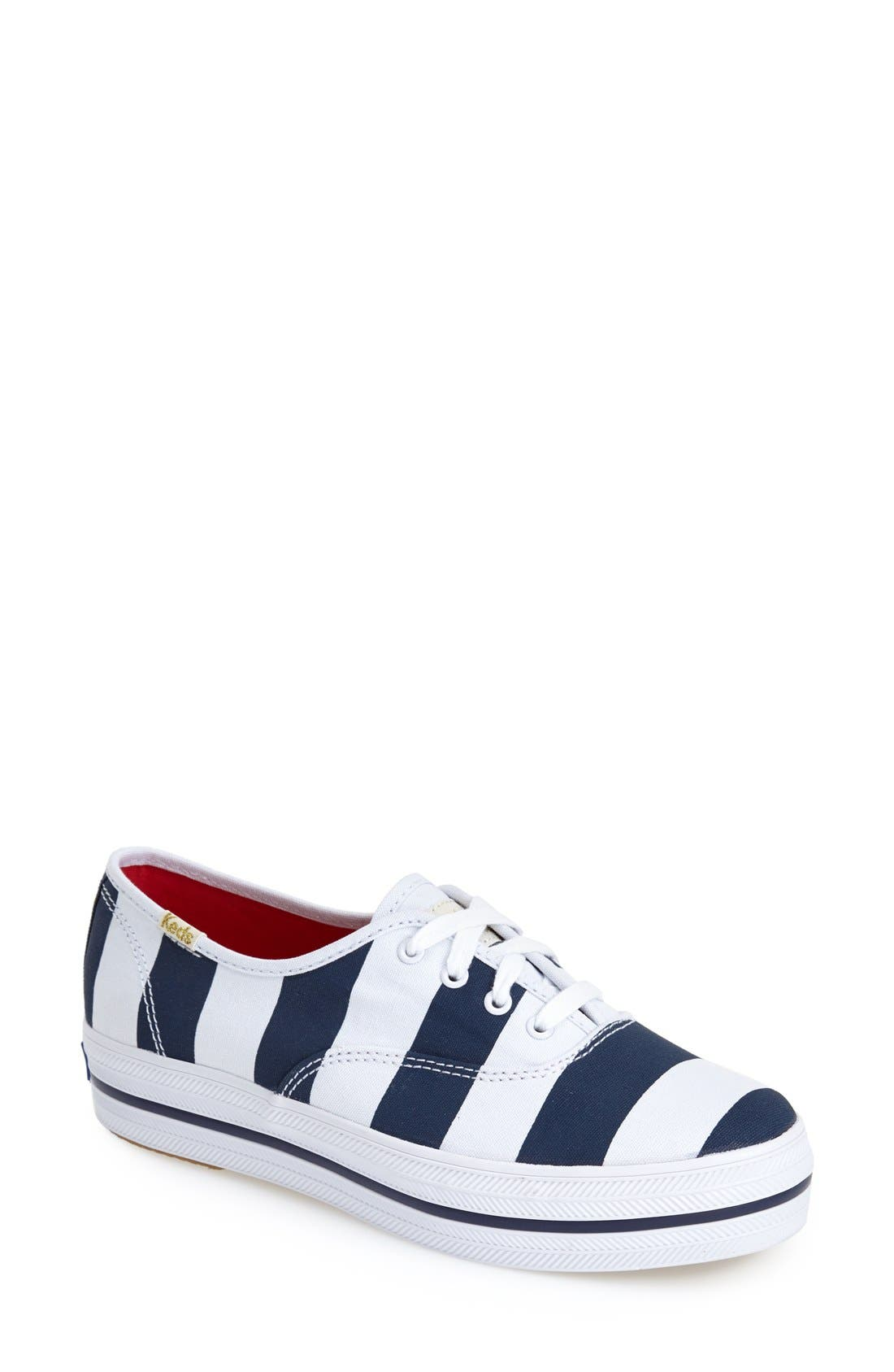 Alternate Image 1 Selected - Keds® for kate spade new york 'triple kick' sneaker (Women)