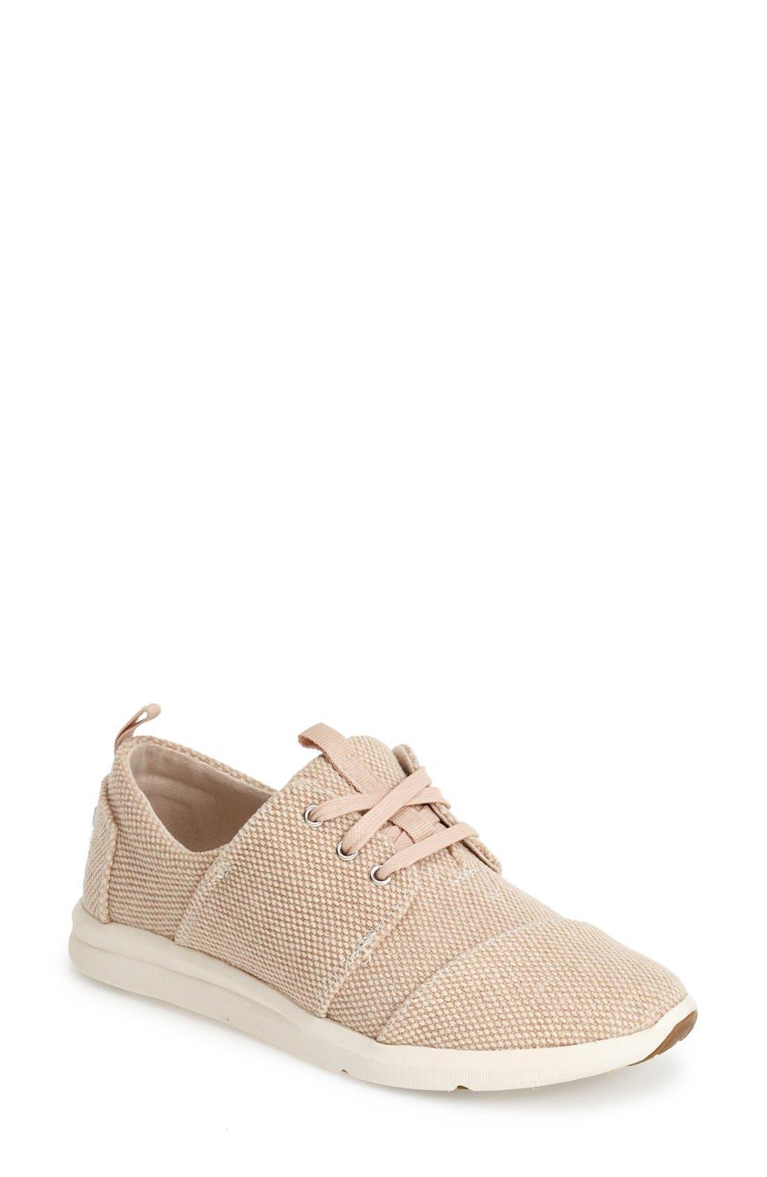 Alternate Image 1 Selected - TOMS 'Del Rey' Sneaker (Women)