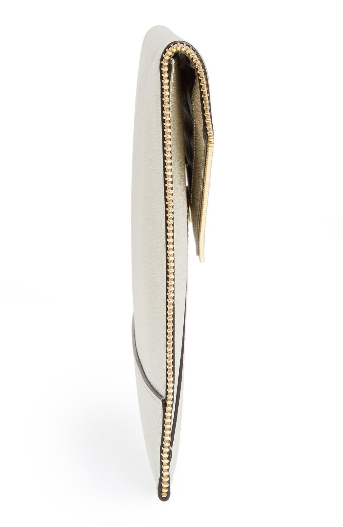 Alternate Image 5  - Rebecca Minkoff 'Leo' Saffiano Leather Envelope Clutch