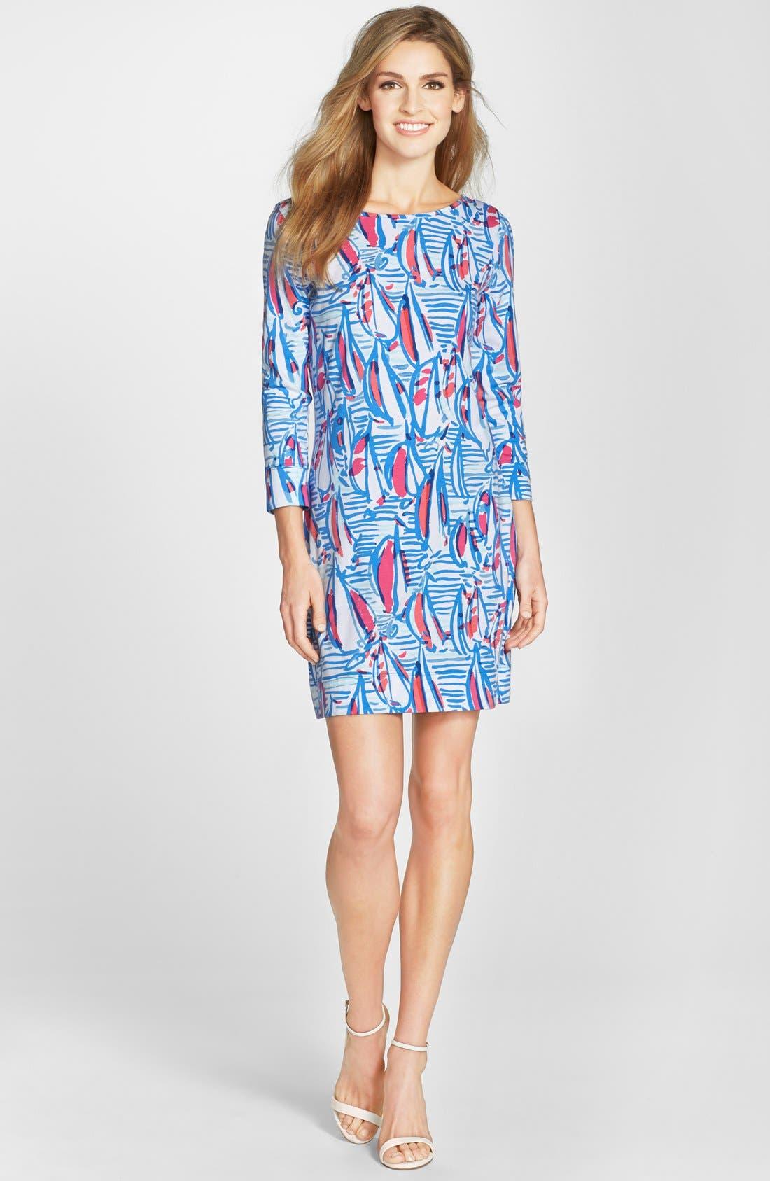 Alternate Image 3  - Lilly Pulitzer® 'Marlowe' Print Pima Cotton Shift Dress