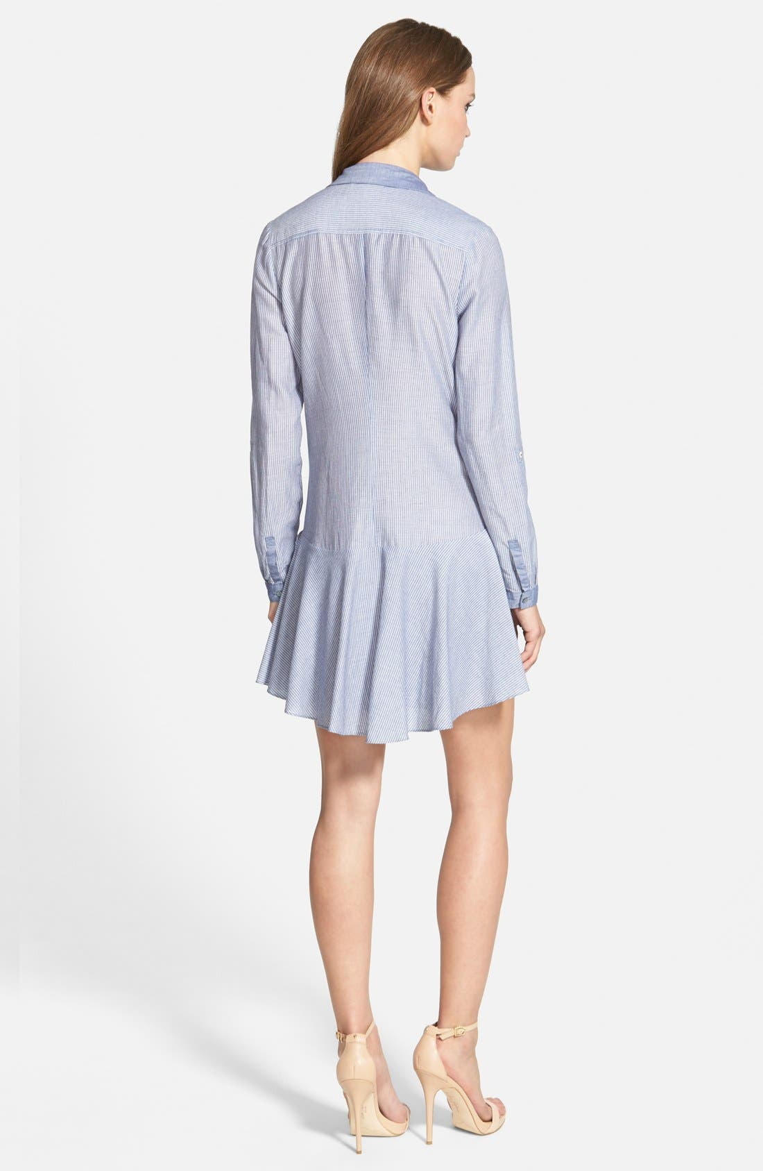 Alternate Image 2  - Sam Edelman Drop Waist Shirtdress