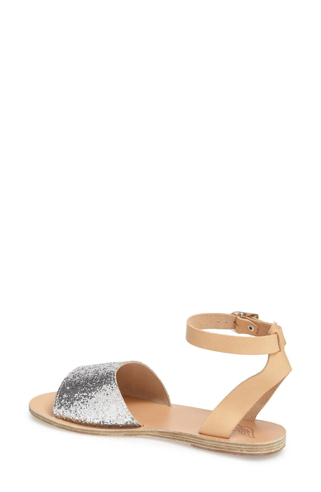 Alternate Image 2  - Ancient Greek Sandals 'Thalpori' Leather Ankle Strap Sandal (Women)