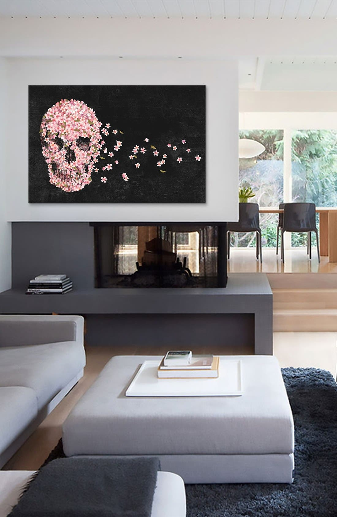 Alternate Image 2  - iCanvas 'Beautiful Death - Terry Fan' Giclée Print Canvas Art