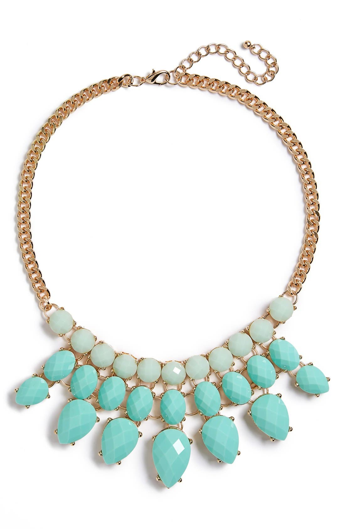 Main Image - BP. Faceted Bead Statement Necklace