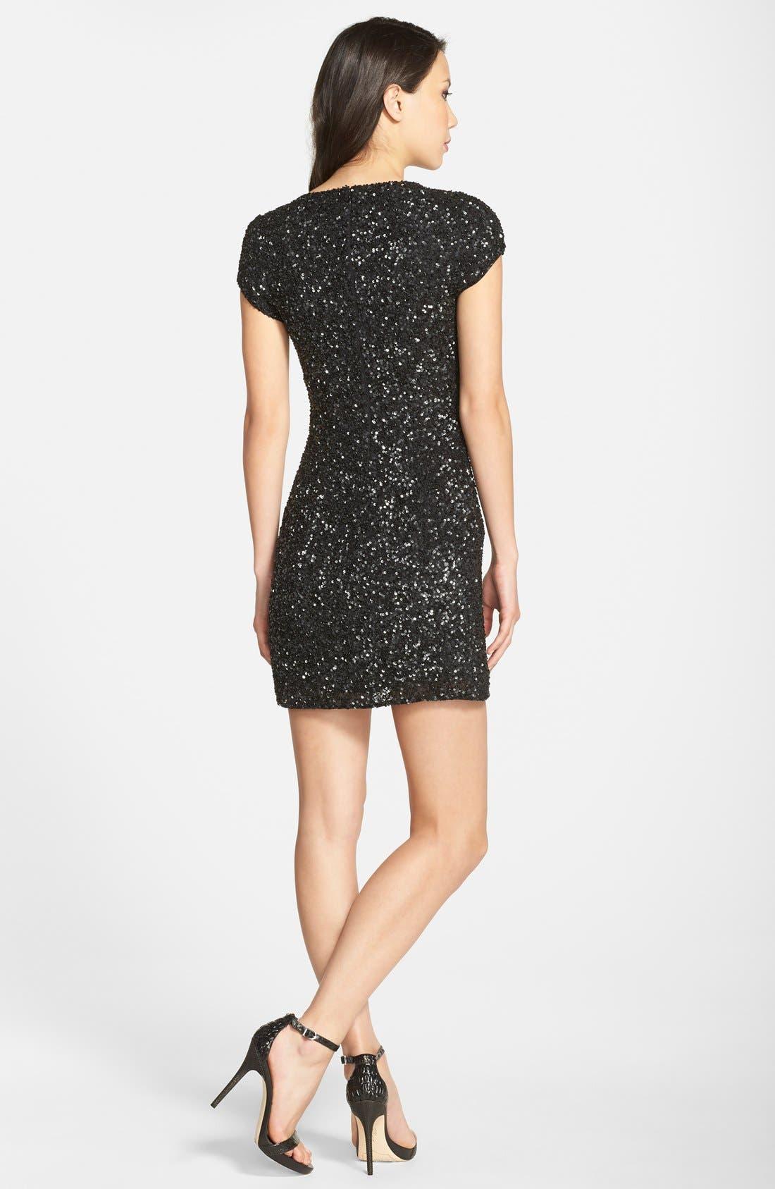Alternate Image 2  - Parker 'Serena' Sequin Sheath Dress