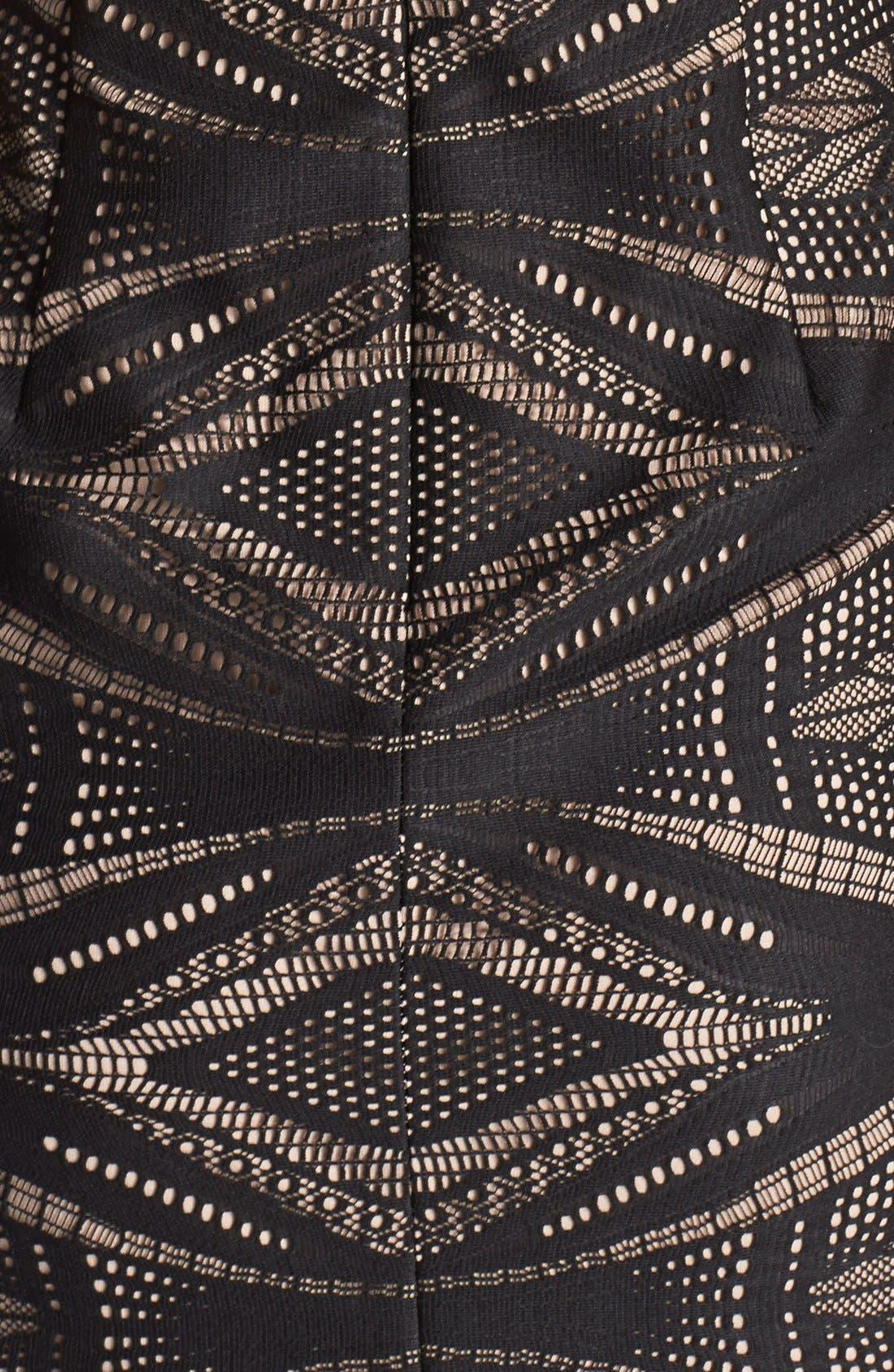 Alternate Image 4  - Maggy London Embellished Lace Sheath Dress