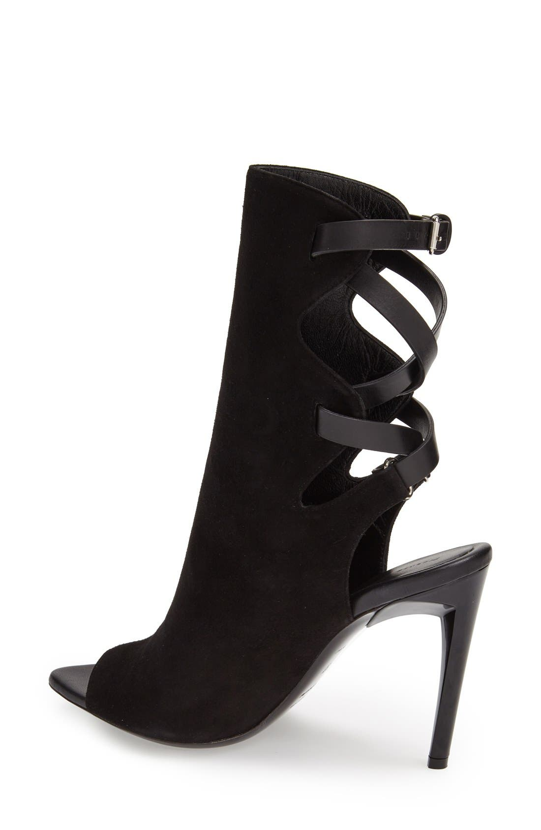 Alternate Image 2  - Proenza Schouler 'Selvino' Peep Toe Boot (Women)