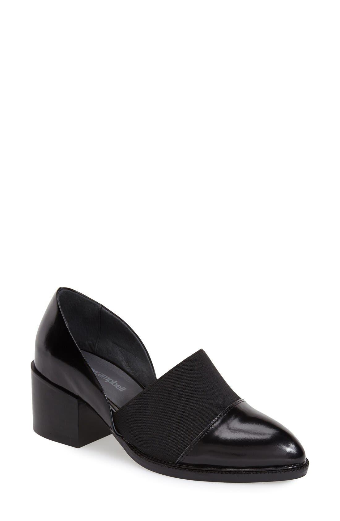 Main Image - Jeffrey Campbell 'Shriver' Almond Toe Loafer (Women)