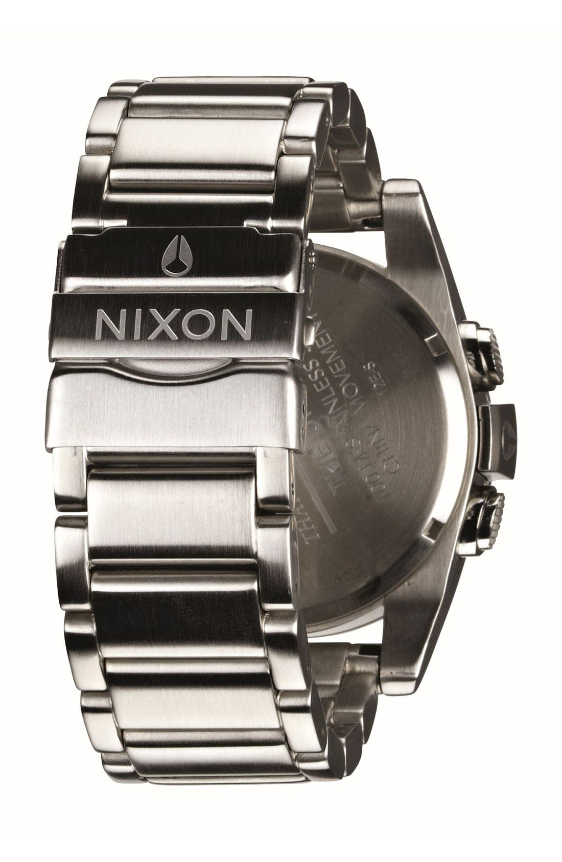 Alternate Image 3  - Nixon 'The Unit' Bracelet Watch, 50mm