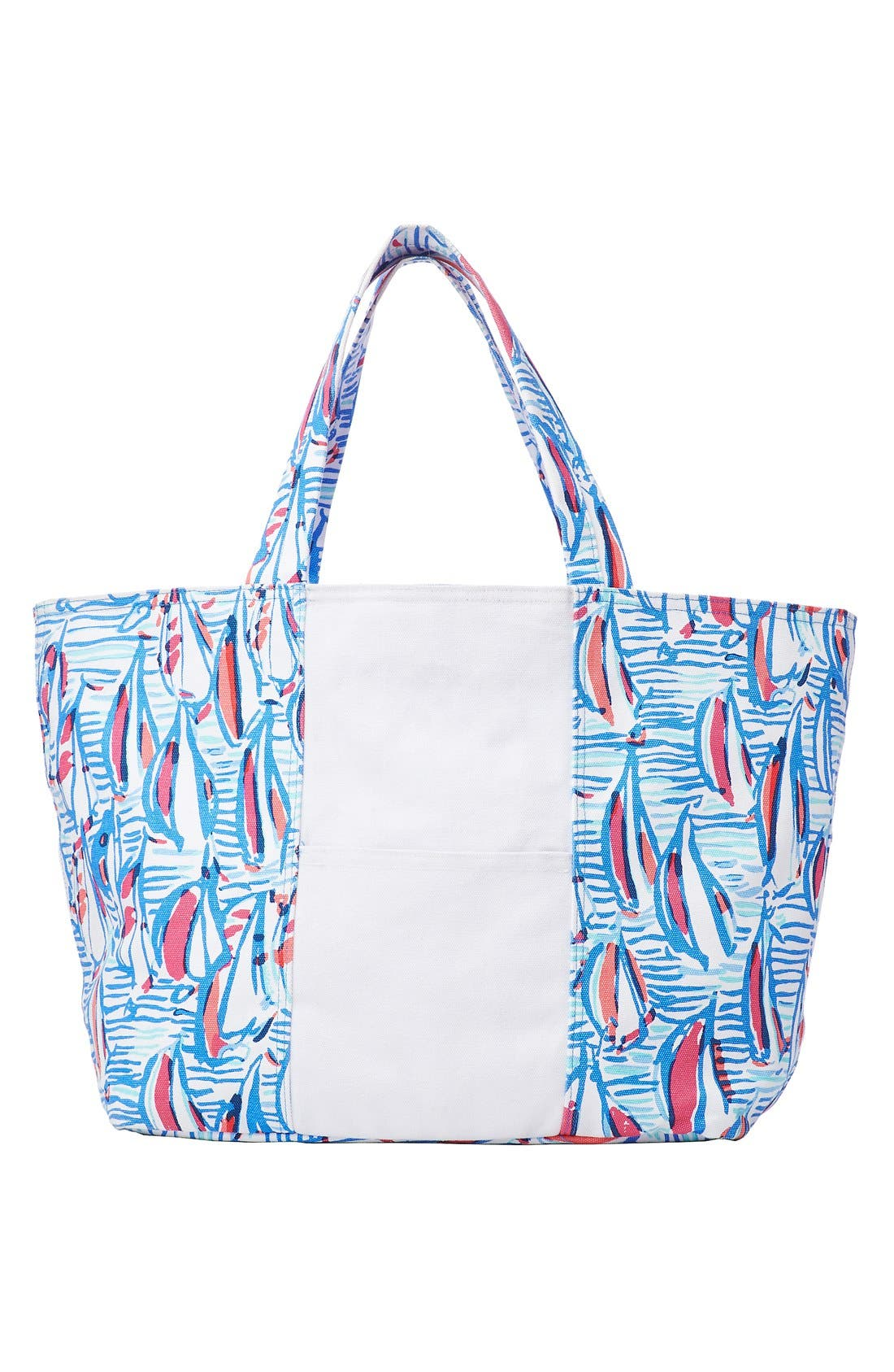 Main Image - Lilly Pulitzer® Print Canvas Beach Tote