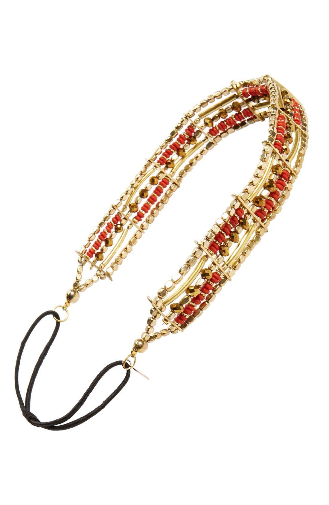Alternate Image 1 Selected - Tasha Beaded Head Wrap