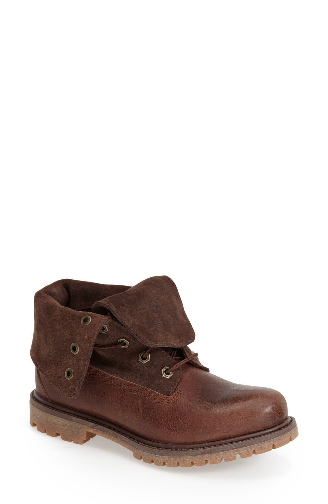 Alternate Image 1 Selected - Timberland Waterproof Leather Boot (Women)