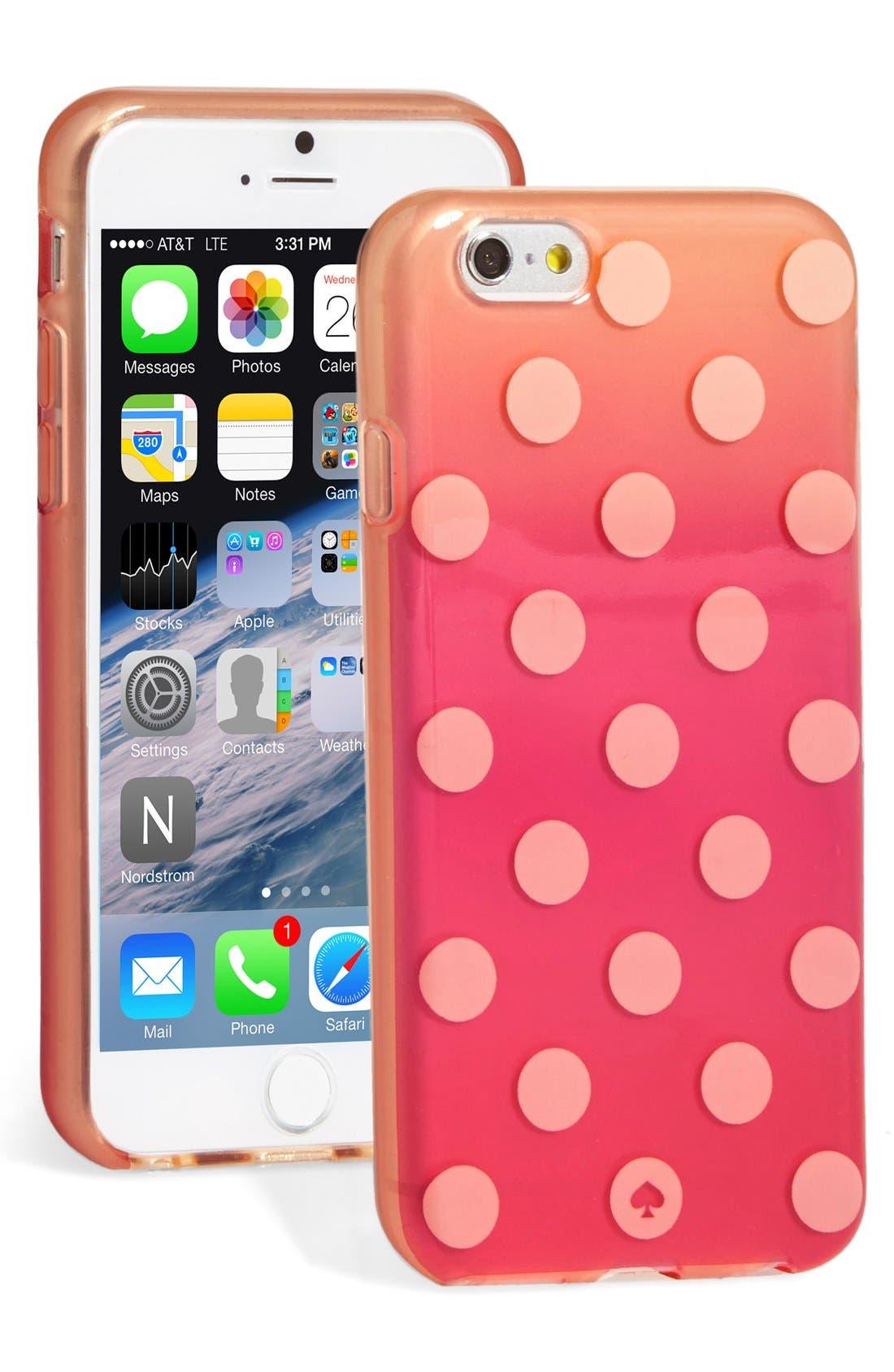 Alternate Image 1 Selected - kate spade new york 'le pavillion' iPhone 6 & 6s case