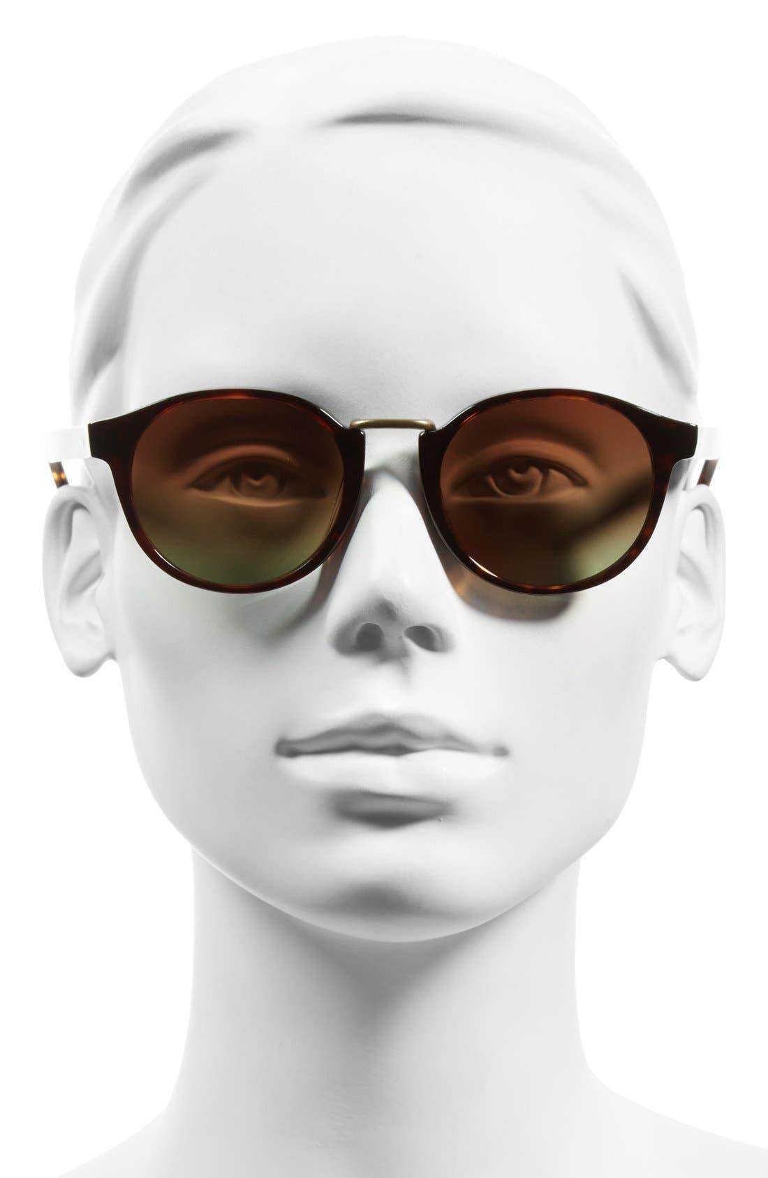Alternate Image 2  - Steven Alan 'Wendell' 49mm Retro Sunglasses