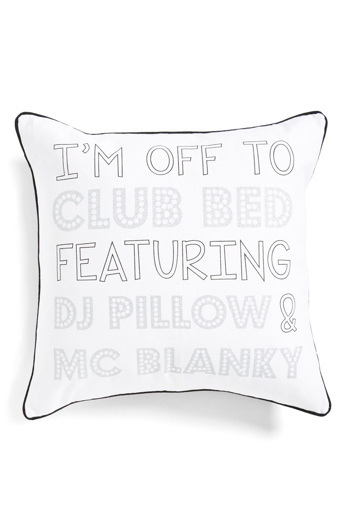 Alternate Image 1 Selected - Levtex 'Club Bed' Accent Pillow