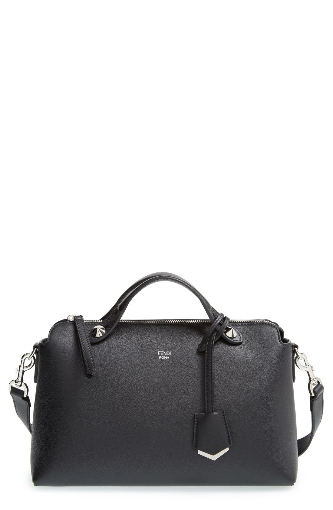 FENDI 'Medium By the Way' Convertible Leather Shoulder