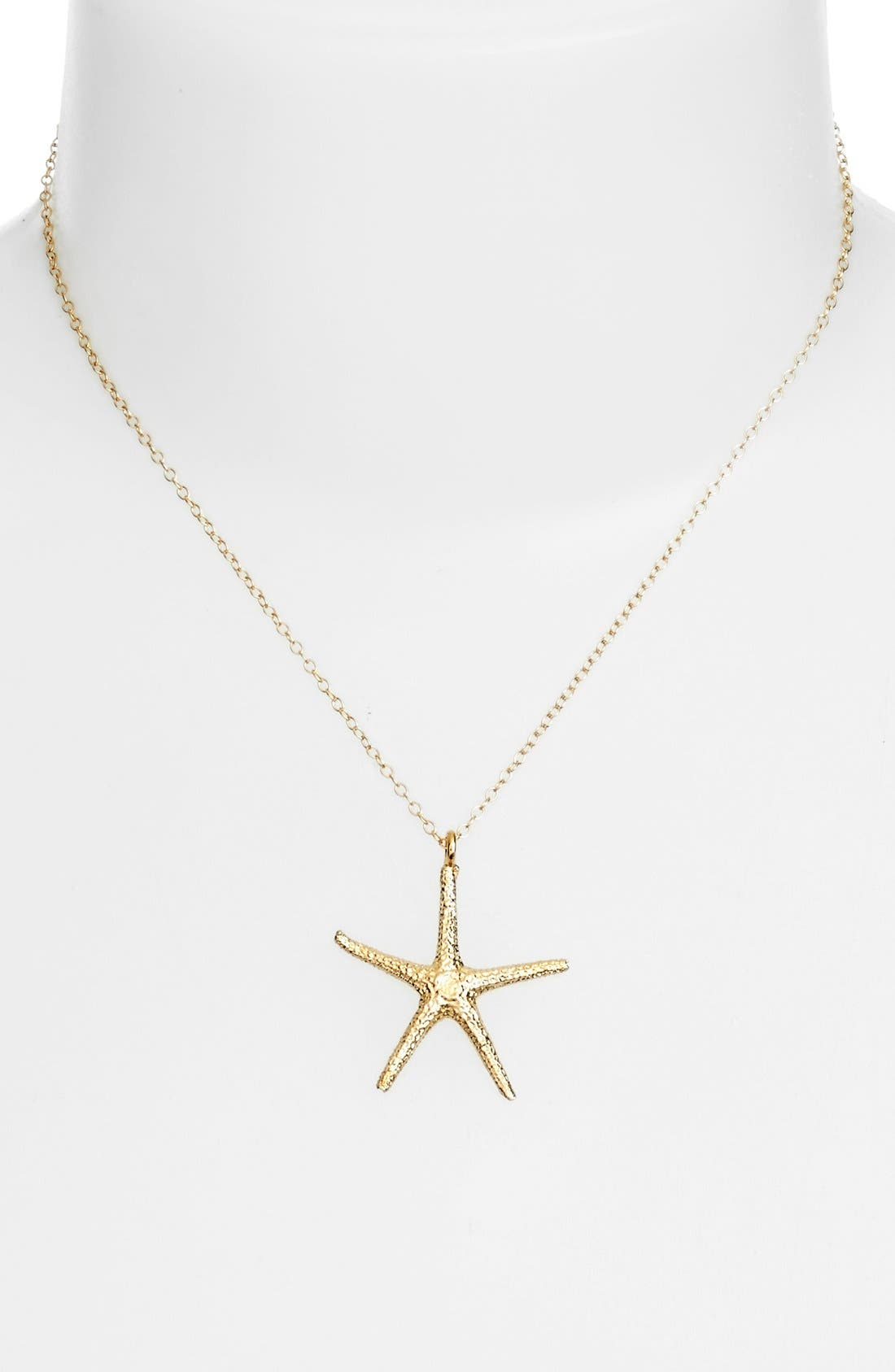 Alternate Image 2  - ki-ele Large Hawaiian Starfish Pendant Necklace