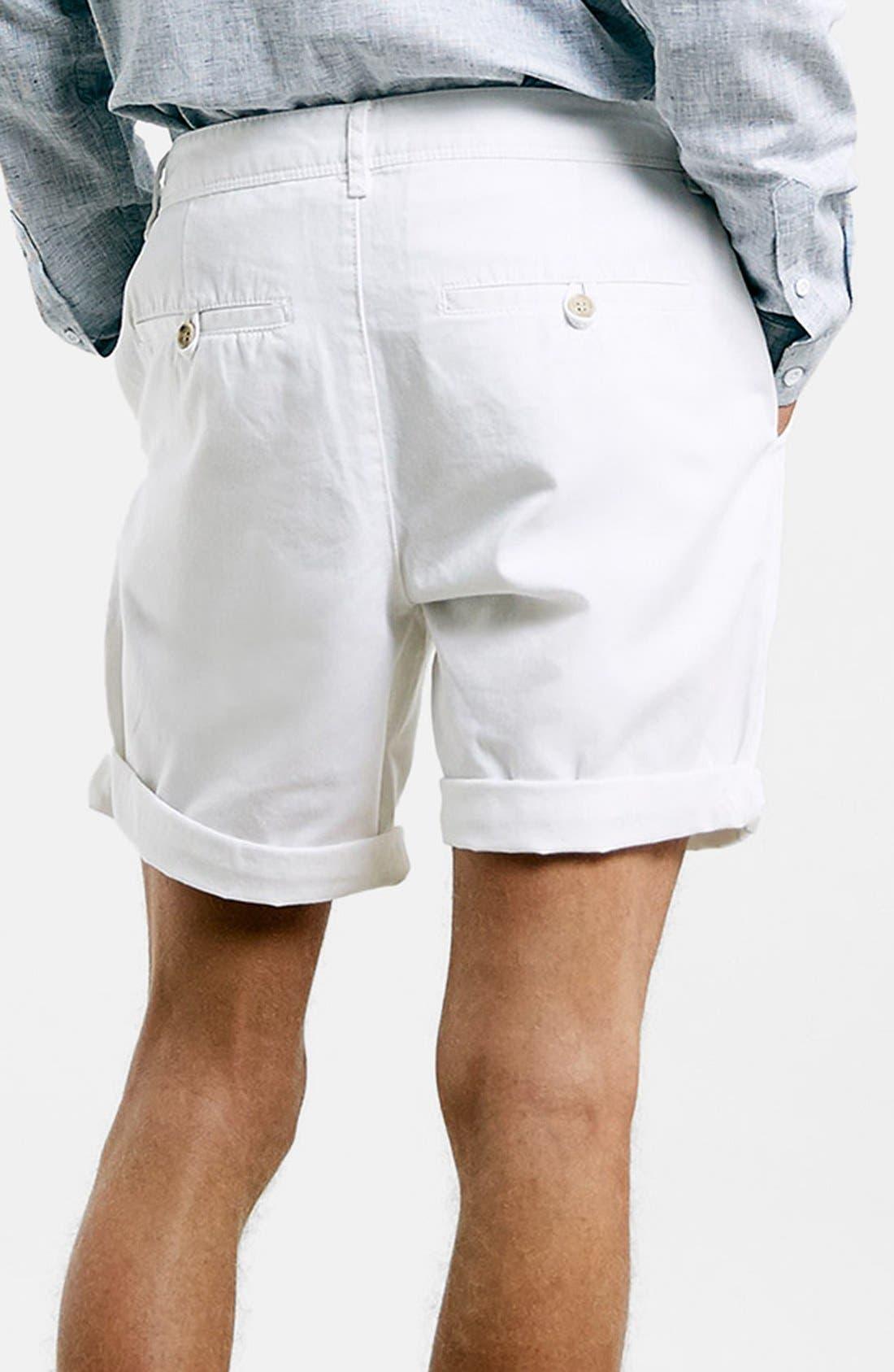 Alternate Image 2  - Topman Chino Shorts