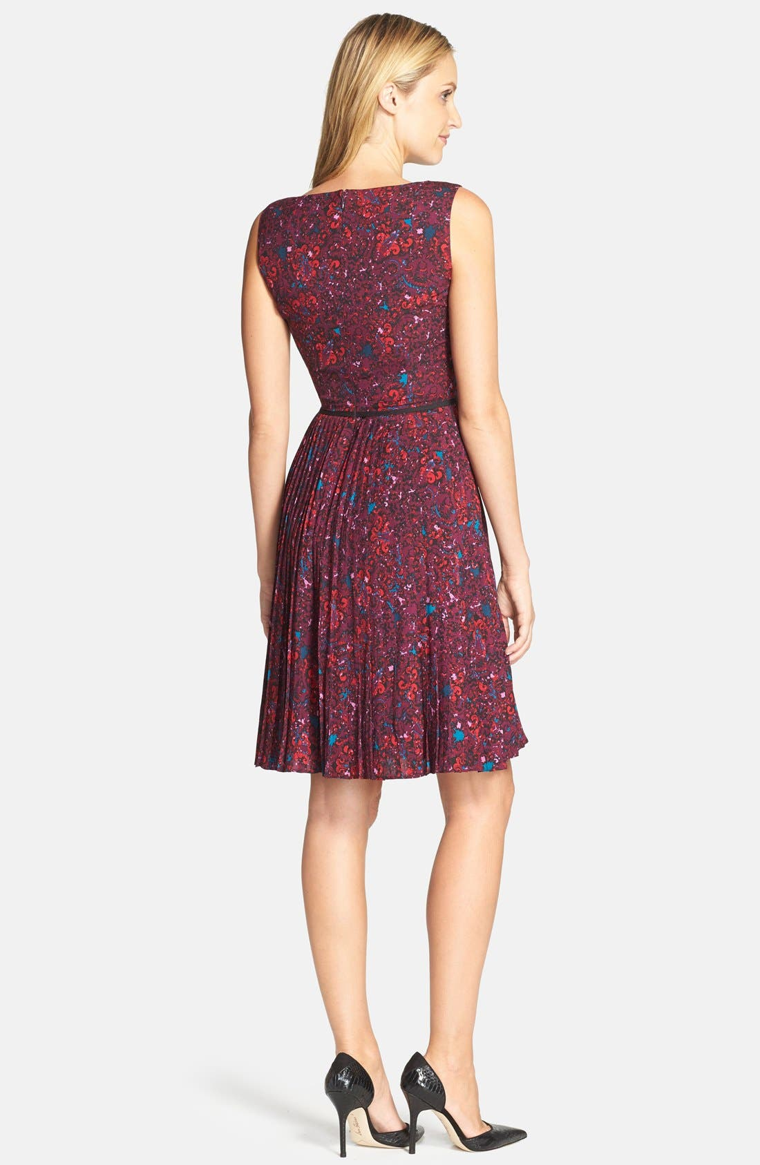 Alternate Image 2  - Adrianna Papell Print Woven Fit & Flare Dress