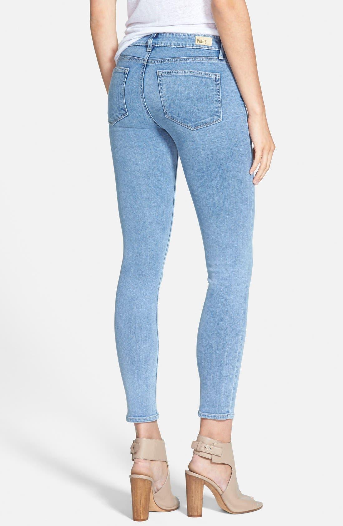 Alternate Image 2  - Paige Denim 'Transcend - Verdugo' Ankle Ultra Skinny Jeans (Joelle)