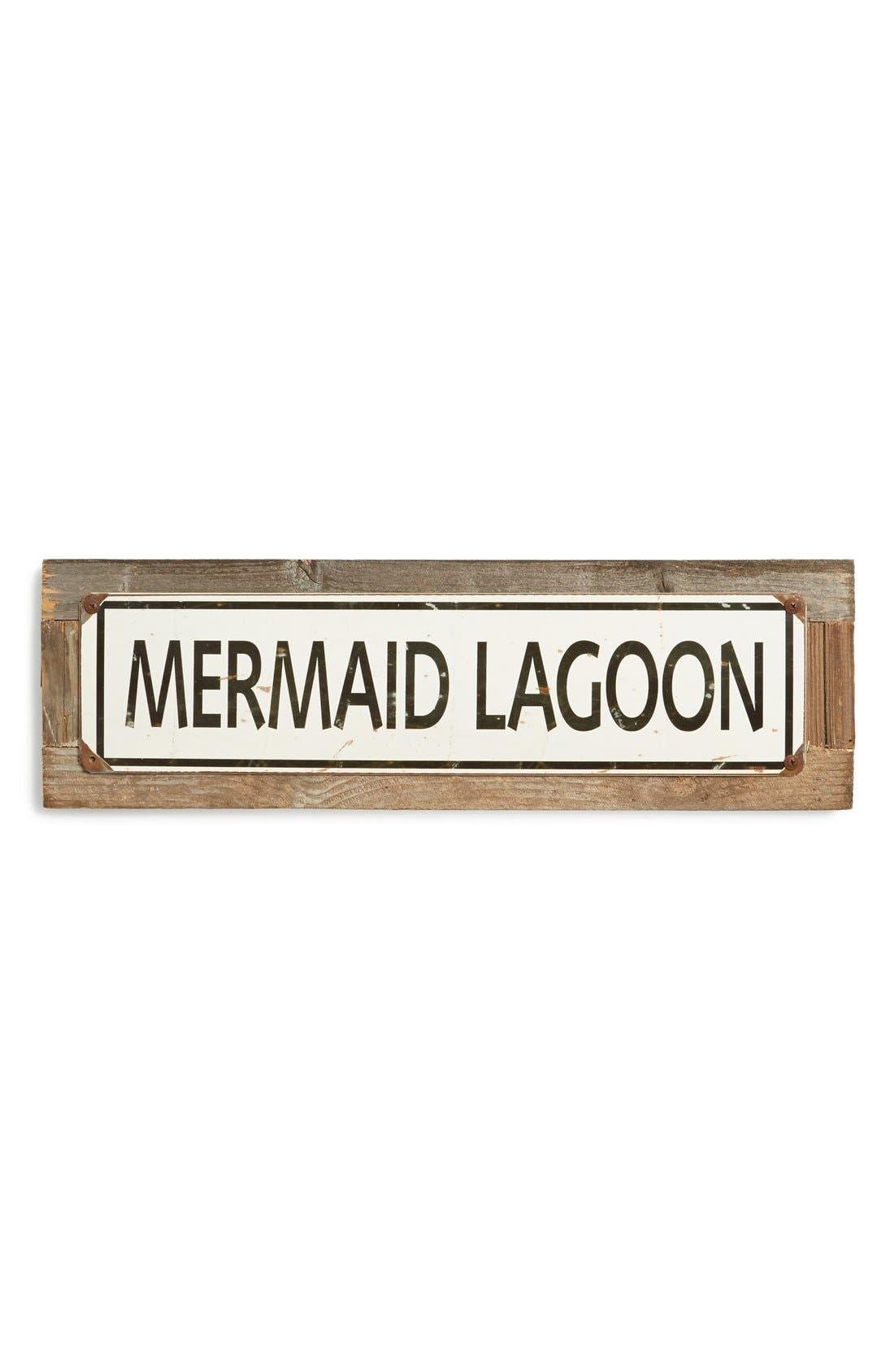 Main Image - Poncho & Goldstein 'Mermaid Lagoon' Sign