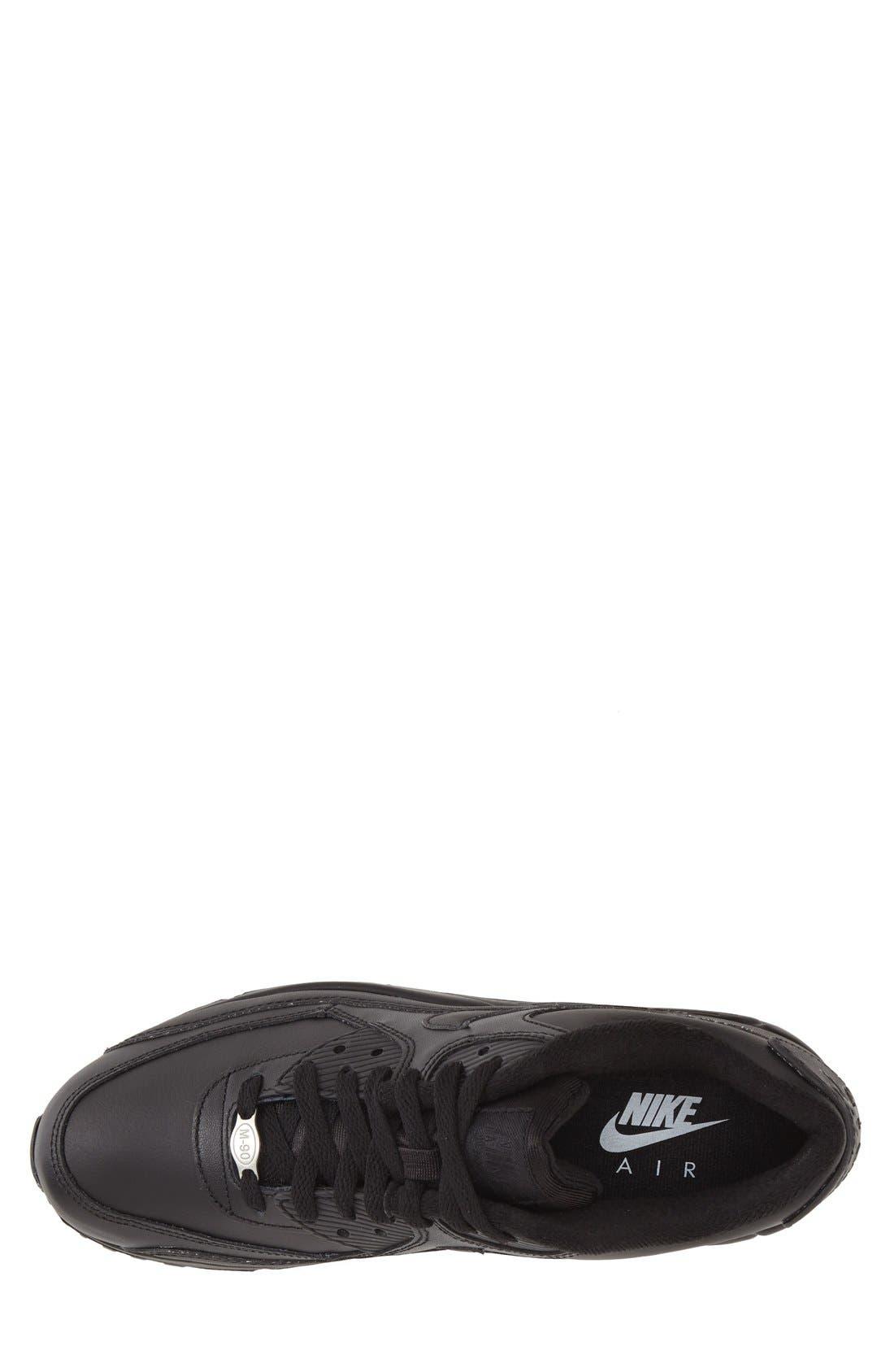 Alternate Image 3  - Nike 'Air Max 90' Leather Sneaker (Men)