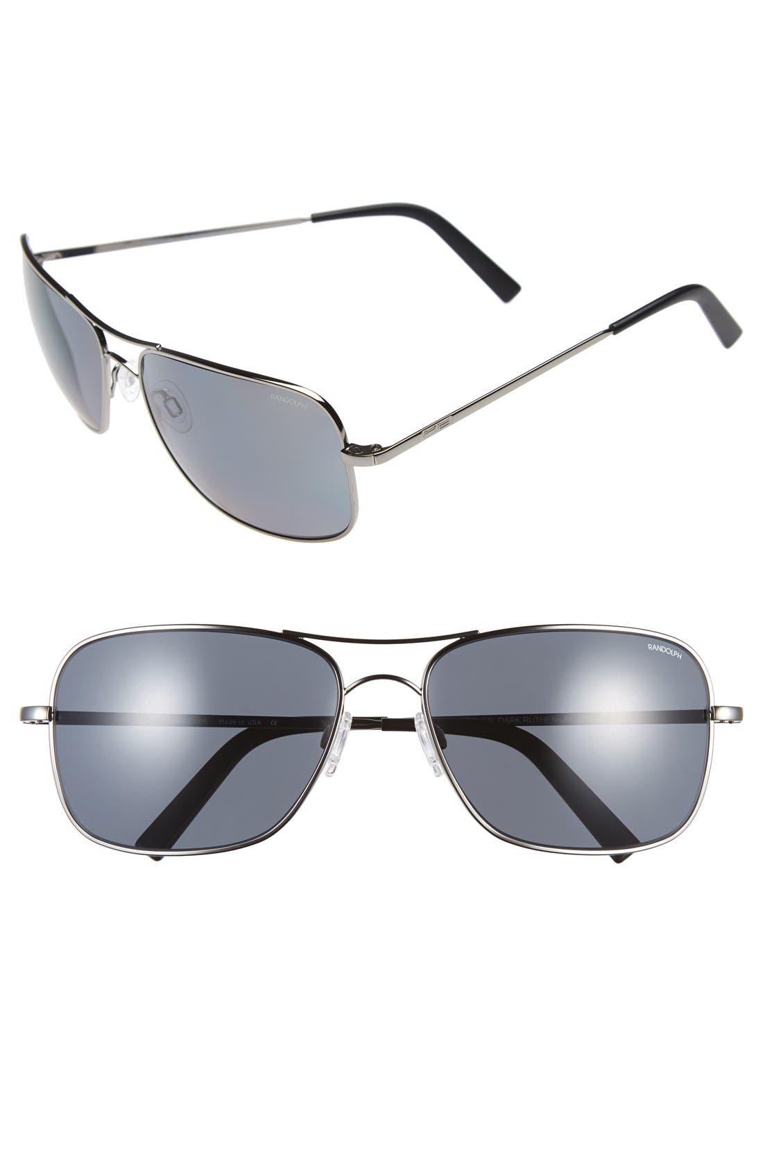 Randolph Engineering 'Archer' 63mm Polarized Sunglasses