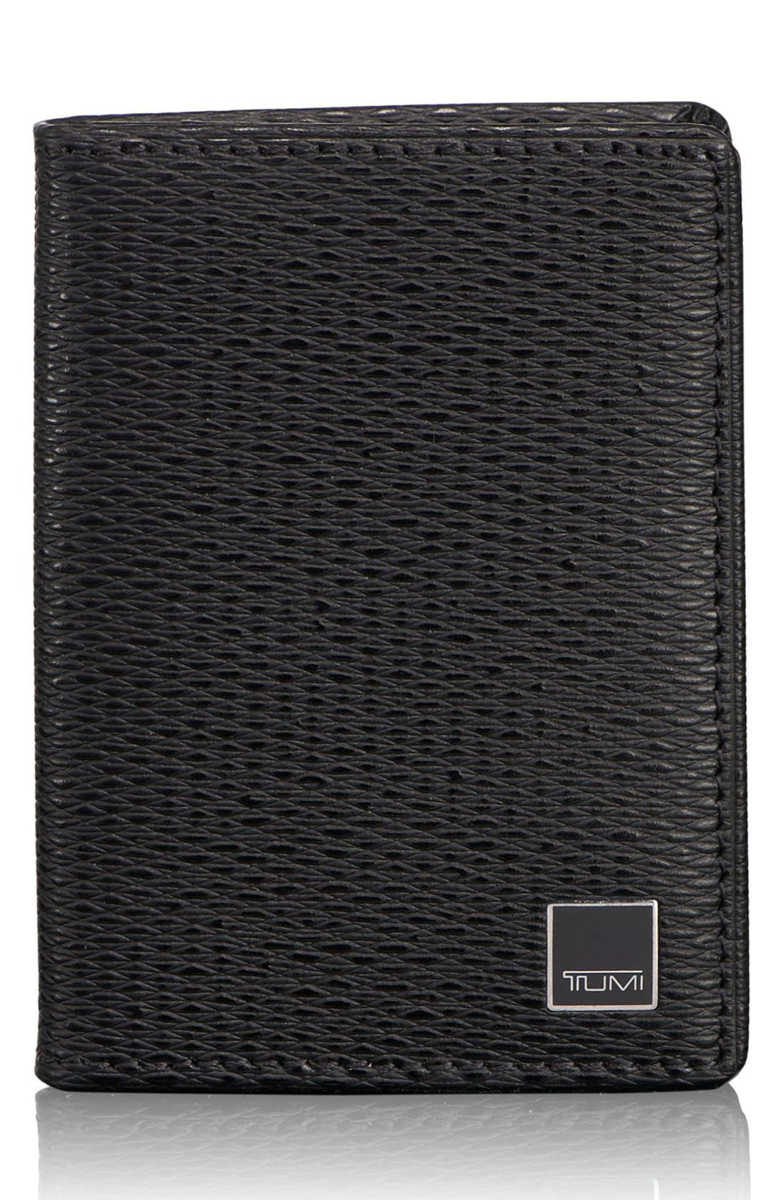 Main Image - Tumi 'Monaco' Gusseted Leather Card Case