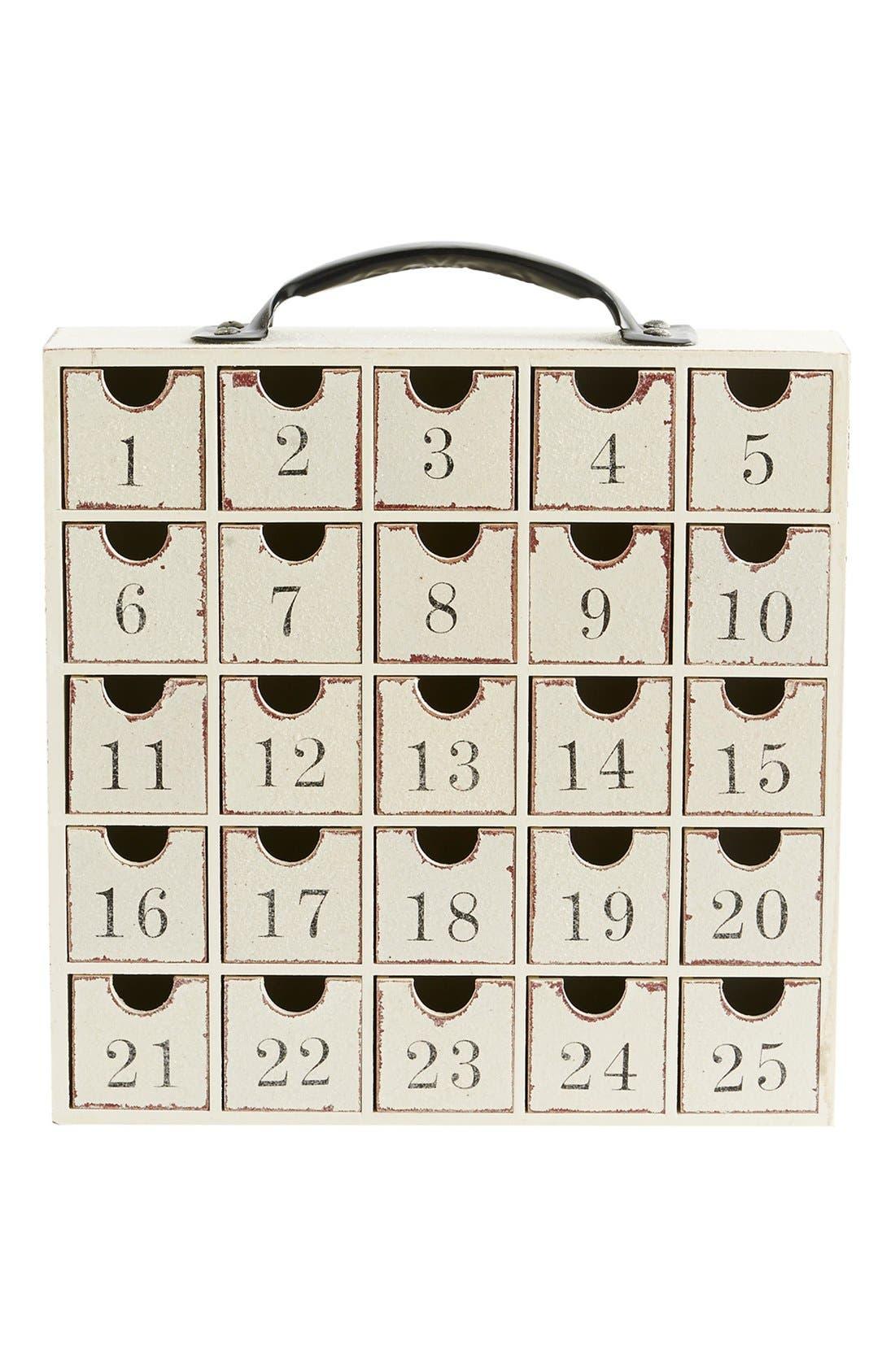 Alternate Image 1 Selected - K & K Interiors Advent Calendar Cabinet