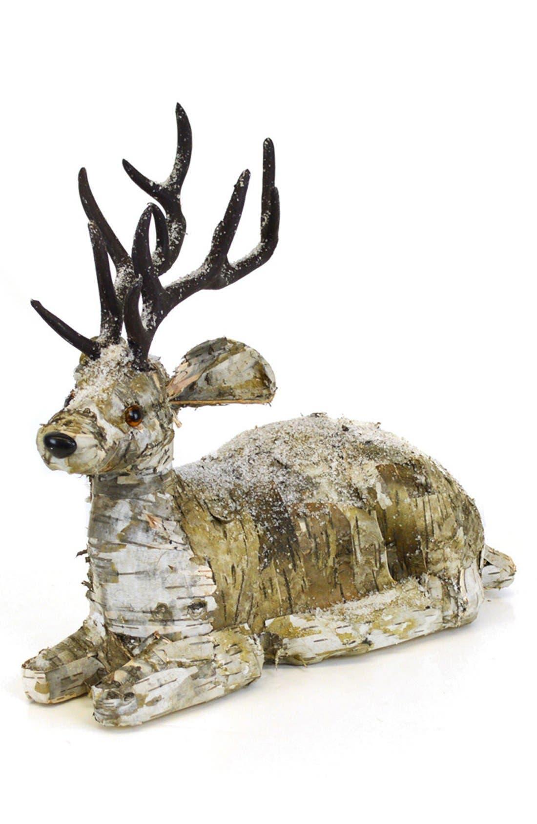 Alternate Image 1 Selected - Shea's Wildflower Birch Bark Reindeer