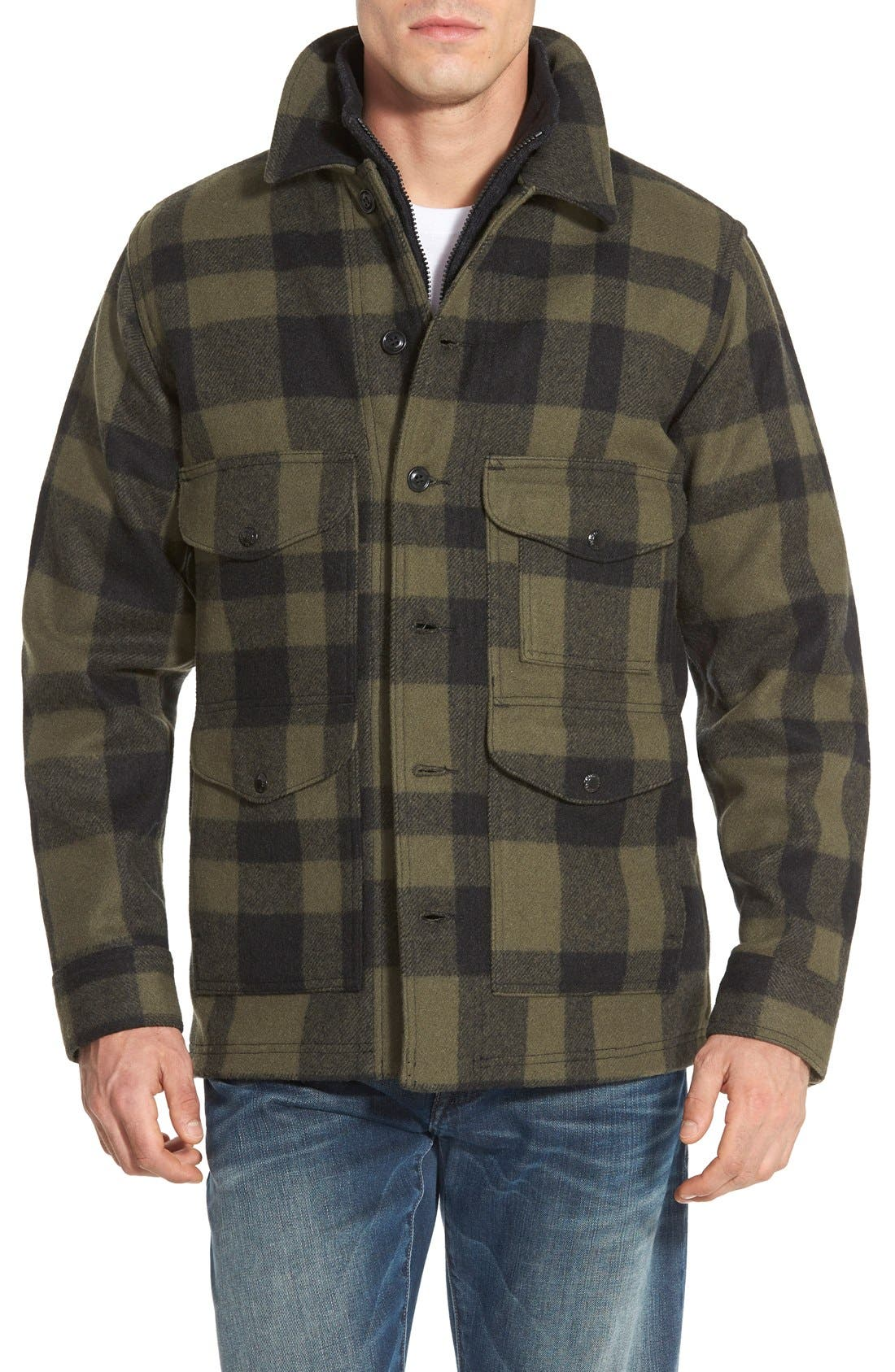 Filson Mackinaw Cruiser Wool Jacket Nordstrom