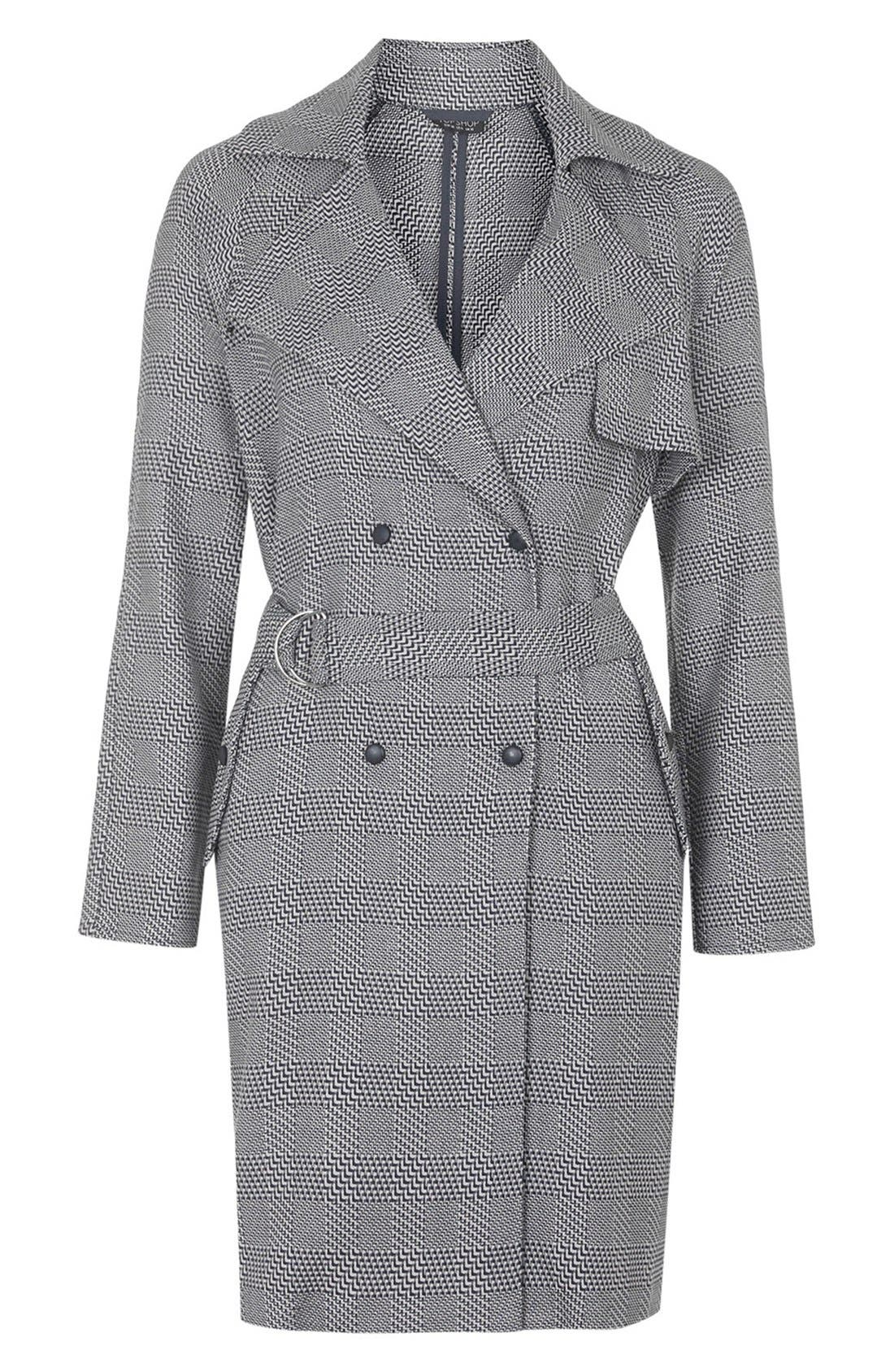 Alternate Image 4  - Topshop Belted Trench