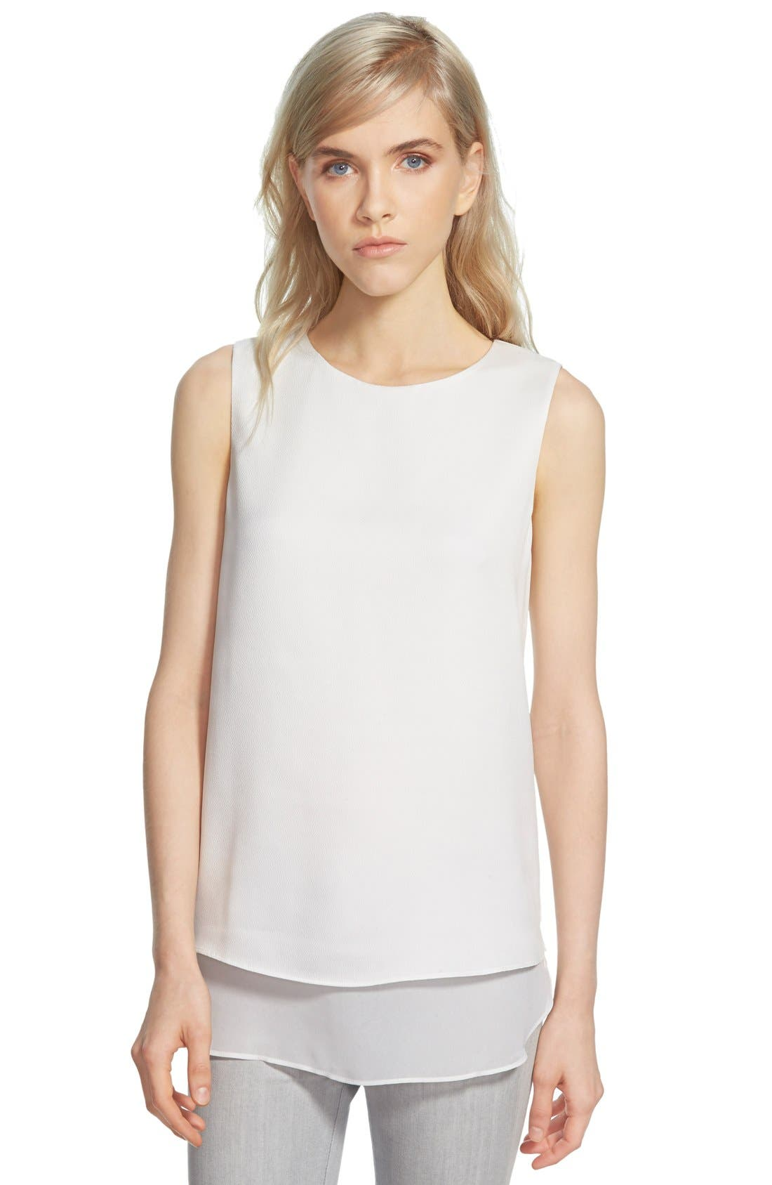 COOPER & ELLA Textured Sleeveless Top