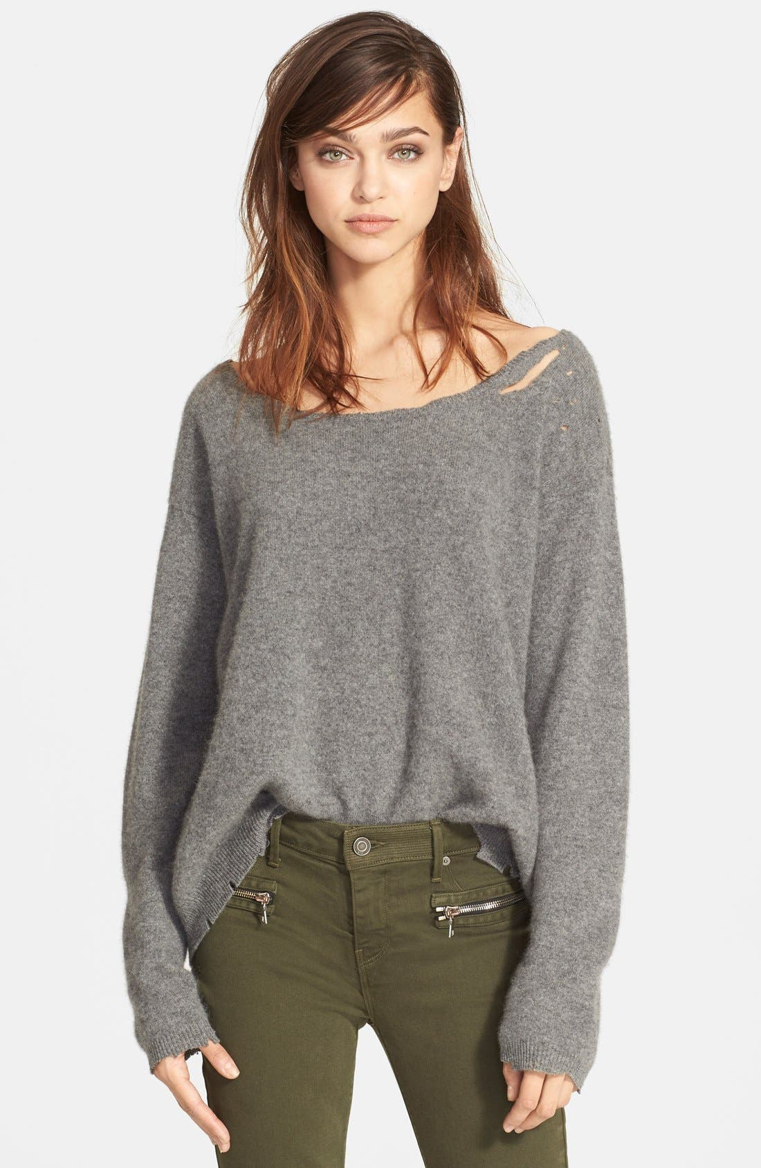 Main Image - RtA Destroyed Cashmere Sweater