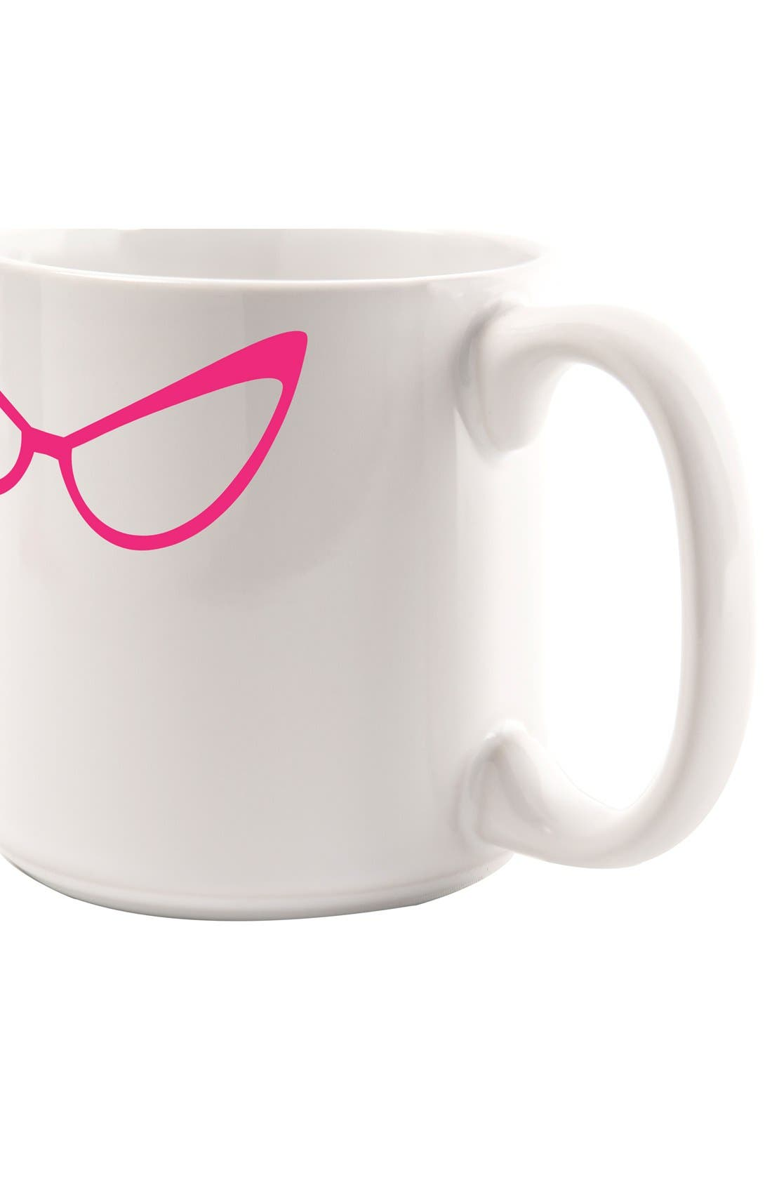 Alternate Image 5  - Cathy's Concepts 'Geek Glasses' Ceramic Coffee Mugs (Set of 2)