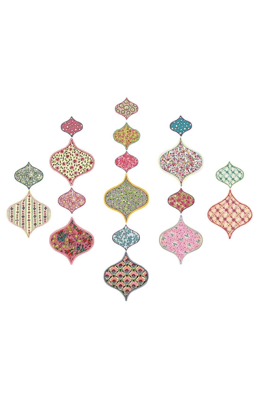 Main Image - Wallpops 'Boho Chic' Wall Art Decal Kit (Set of 18)