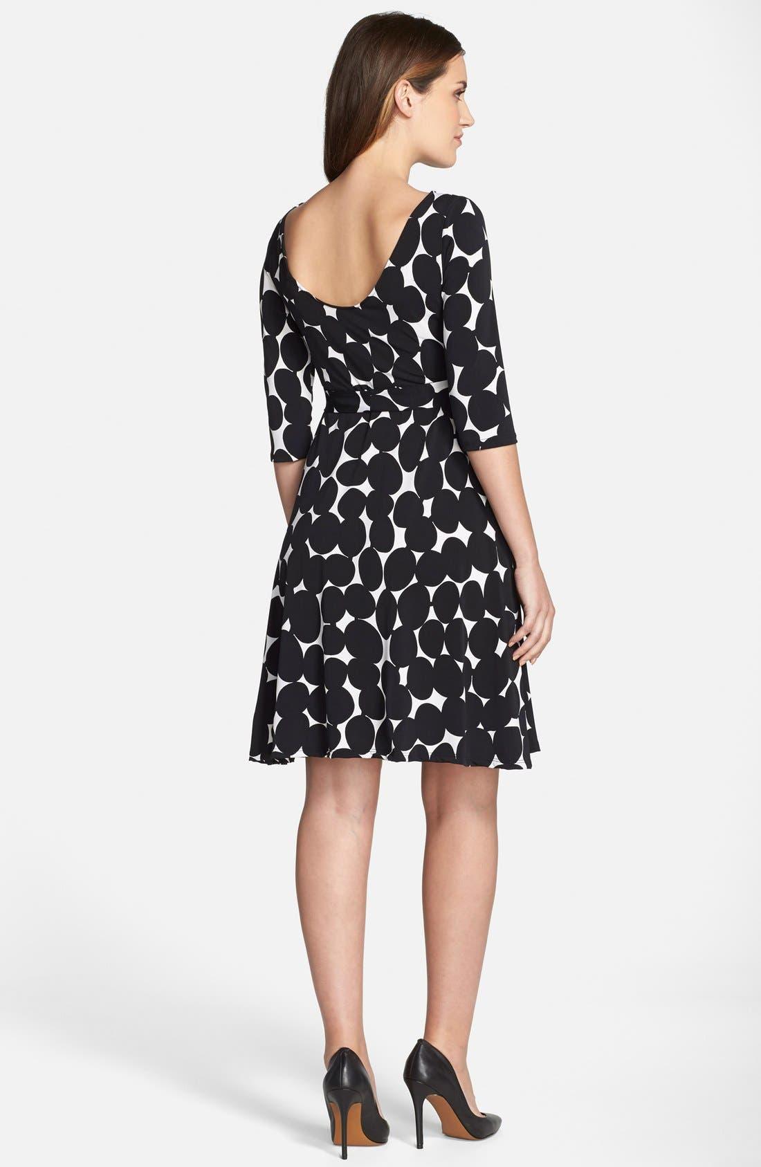 Alternate Image 2  - Leota 'Ilana' Belted Maternity Dress