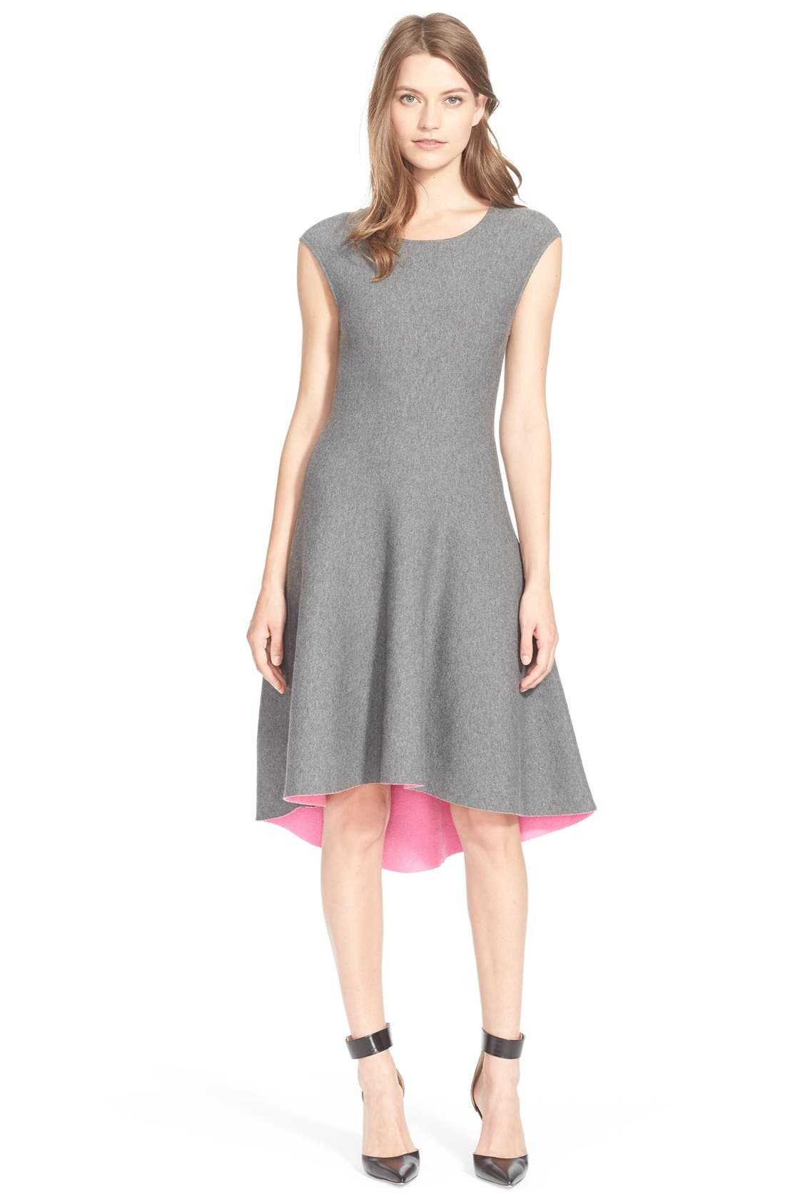 Alternate Image 1 Selected - Milly Reversible Fit & Flare Dress