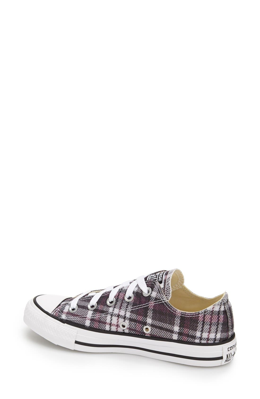 Alternate Image 2  - Converse Chuck Taylor® All Star® Plaid Low Top Sneaker (Women)