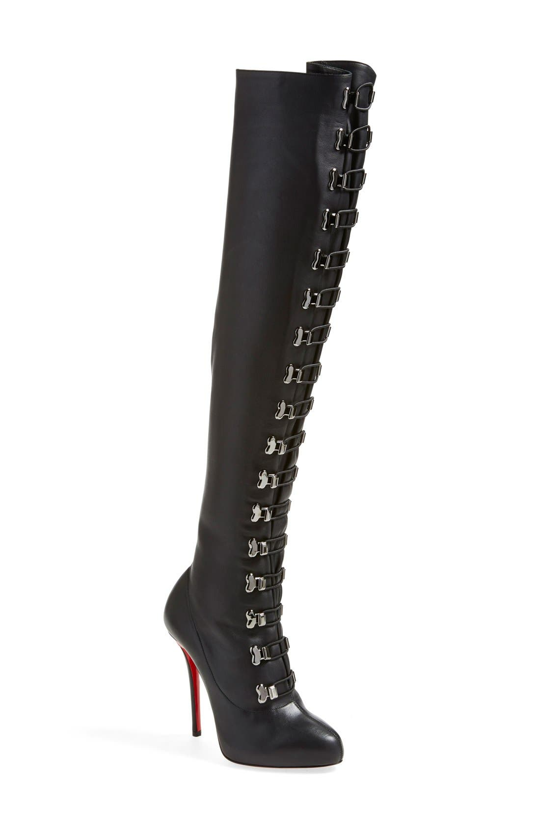 Alternate Image 1 Selected - Christian Louboutin 'Top Croche' Over the Knee Boot
