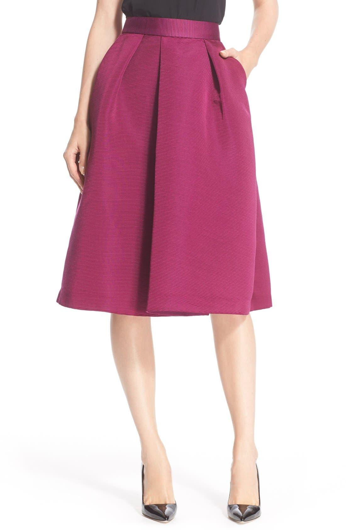 Main Image - Ted Baker London High Waist Full Midi Skirt