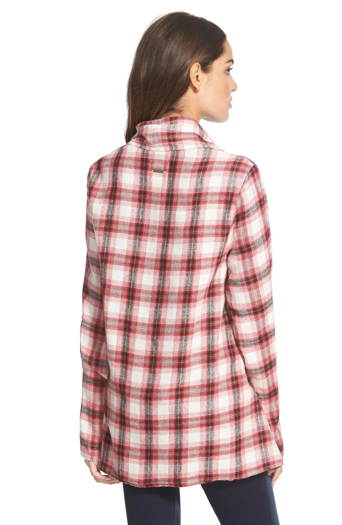 Alternate Image 2  - Billabong 'Once Again' Flannel Cardigan