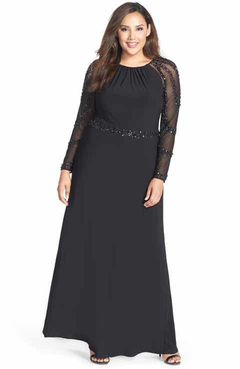 Formal Plus-Size Dresses   Nordstrom